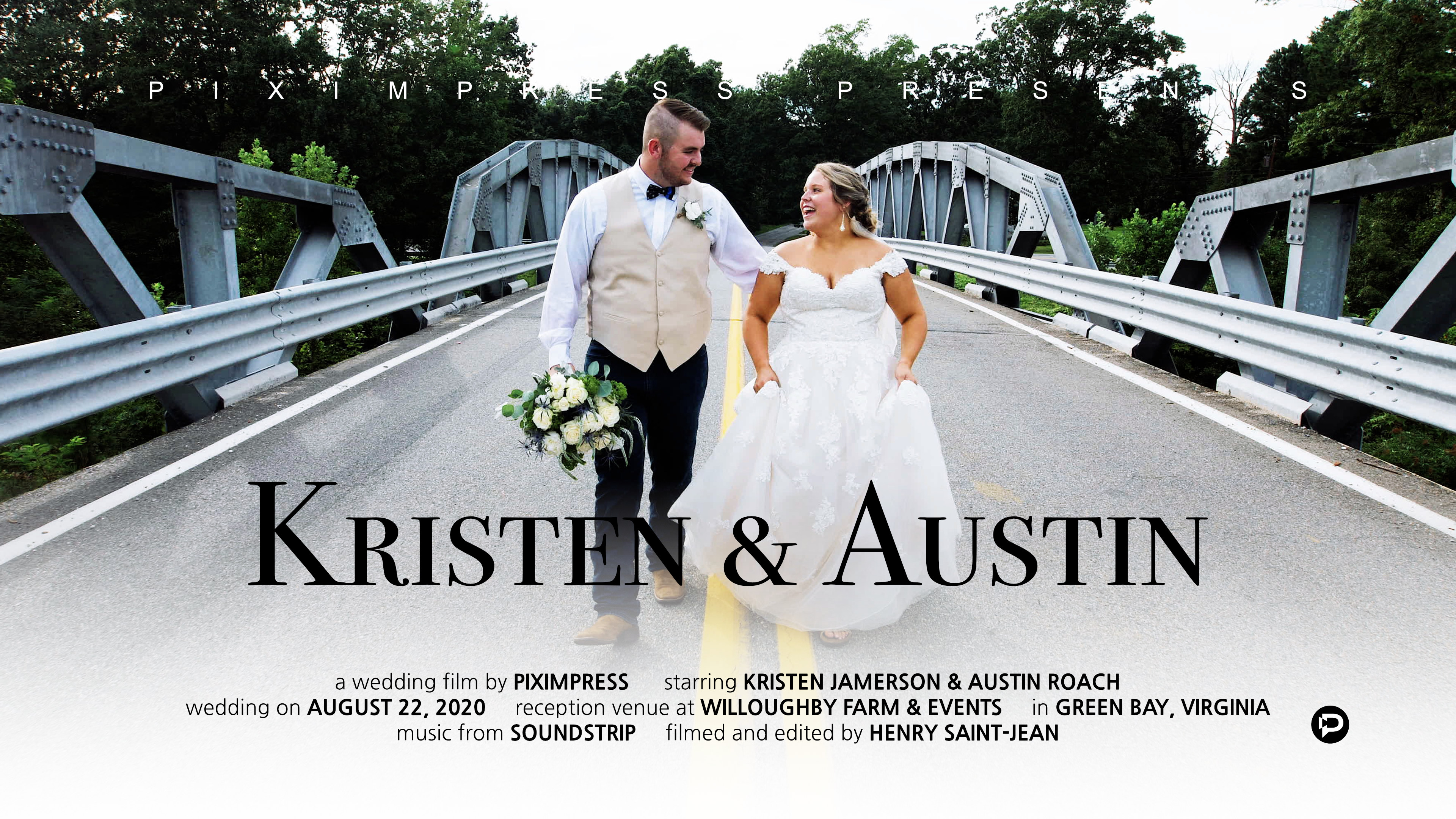 Kristen + Austin | Green Bay, Virginia | Willoughby Events