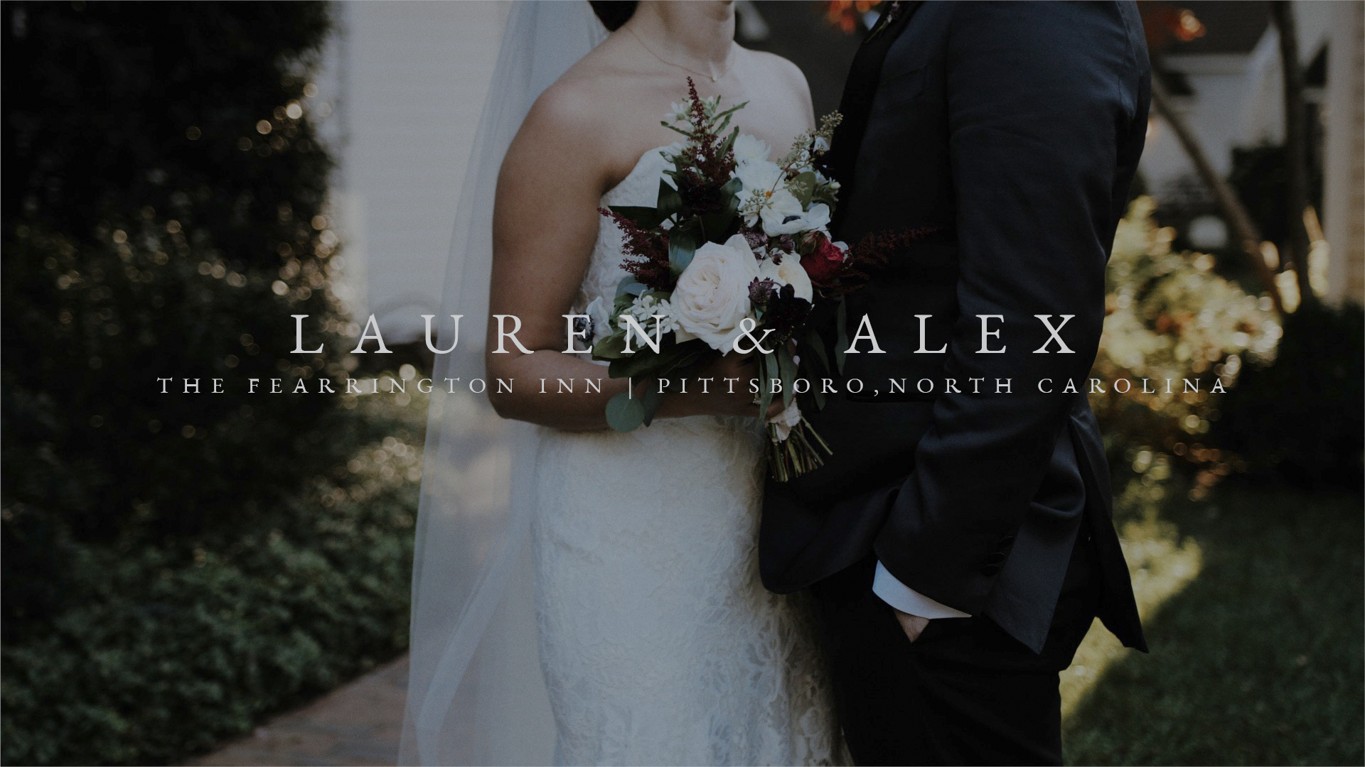 Lauren Bronec + Alex Fraser | Pittsboro, North Carolina | The Fearrington Inn