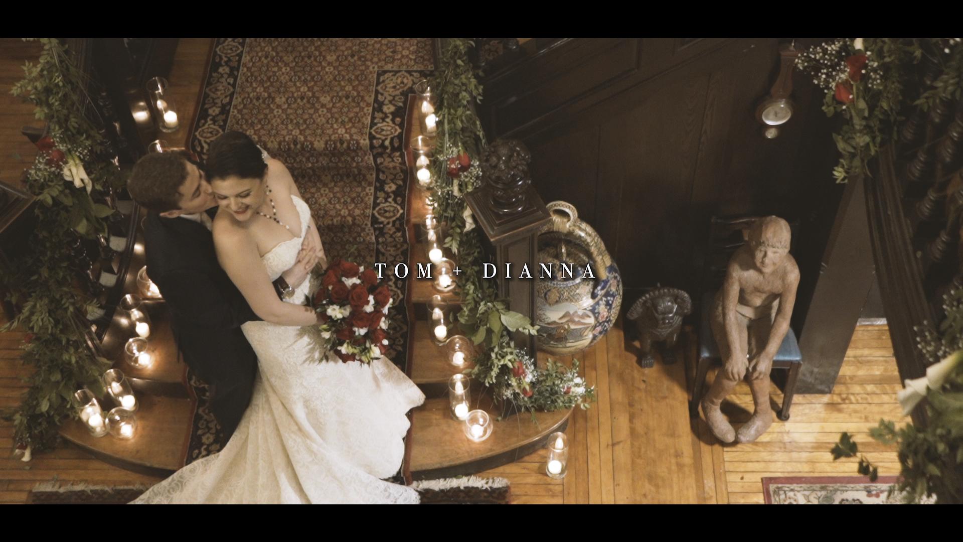 Diana + Tom | Brooklandville, Maryland | Gramercy Mansion
