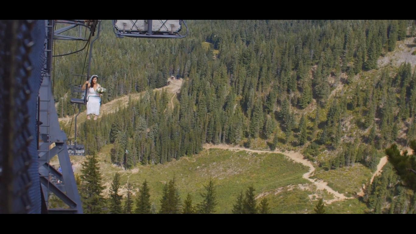 Alicia + Trevor | Government Camp, Oregon | Mount Hood Ski Bowl