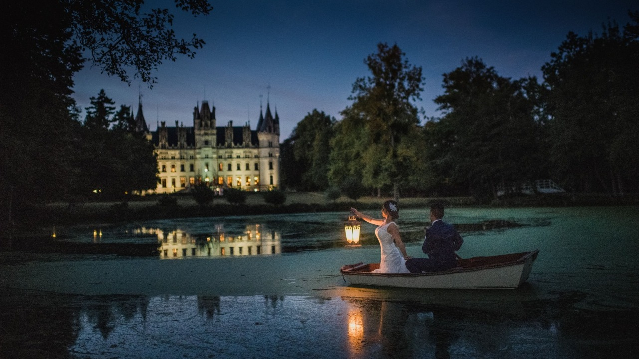 Patricia + Andrew | Paris, France | Chateau de Challain