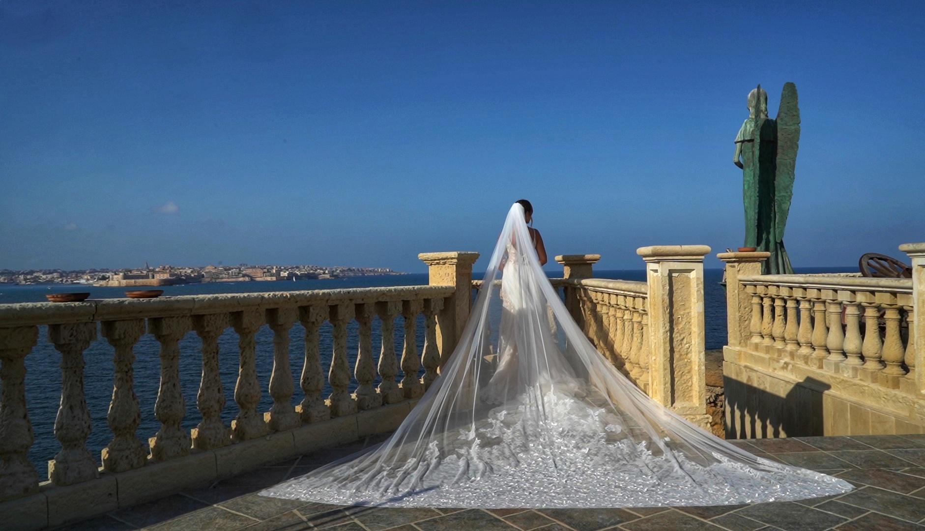 Valentina + Gabriele   Sicily, Italy   a Catholic Church