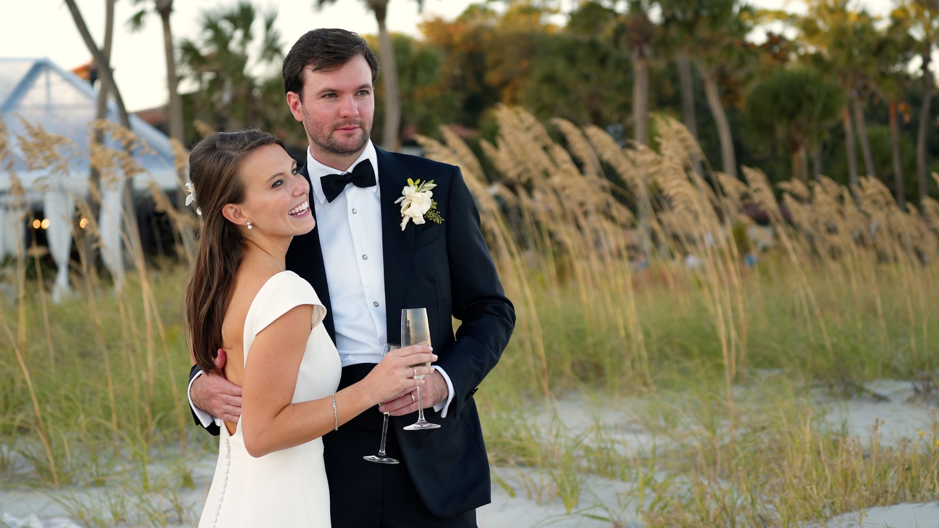 Katie + Will | Sea Island, Georgia | Ocean Forest Golf Club