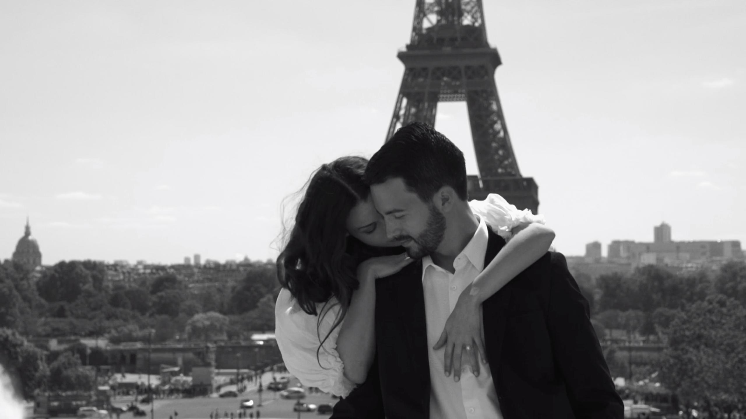 Ellen + Jeremy   Paris, France   Eiffel Tower