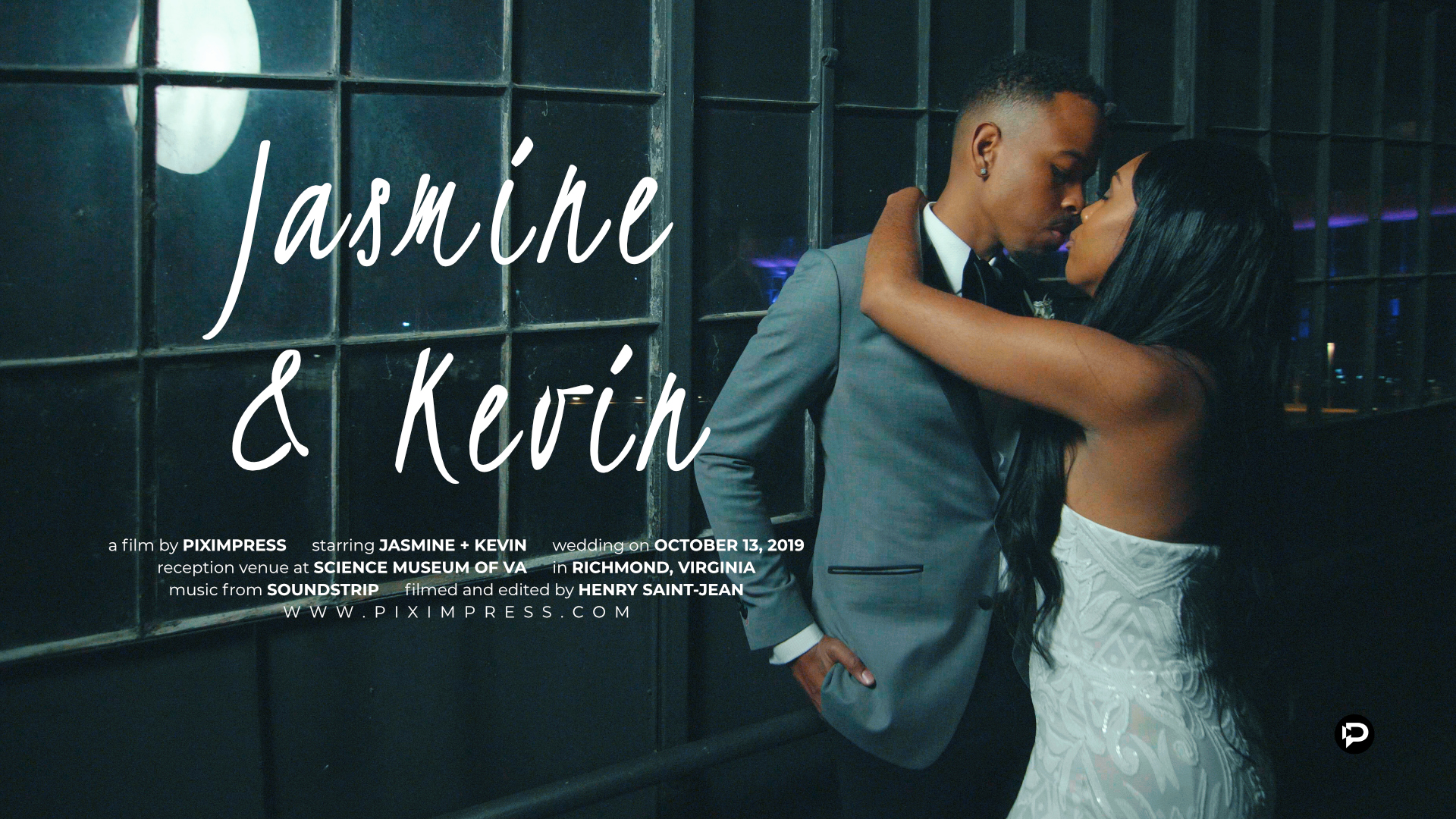 Jasmine + Kevin | Richmond, Virginia | The Science of Museum