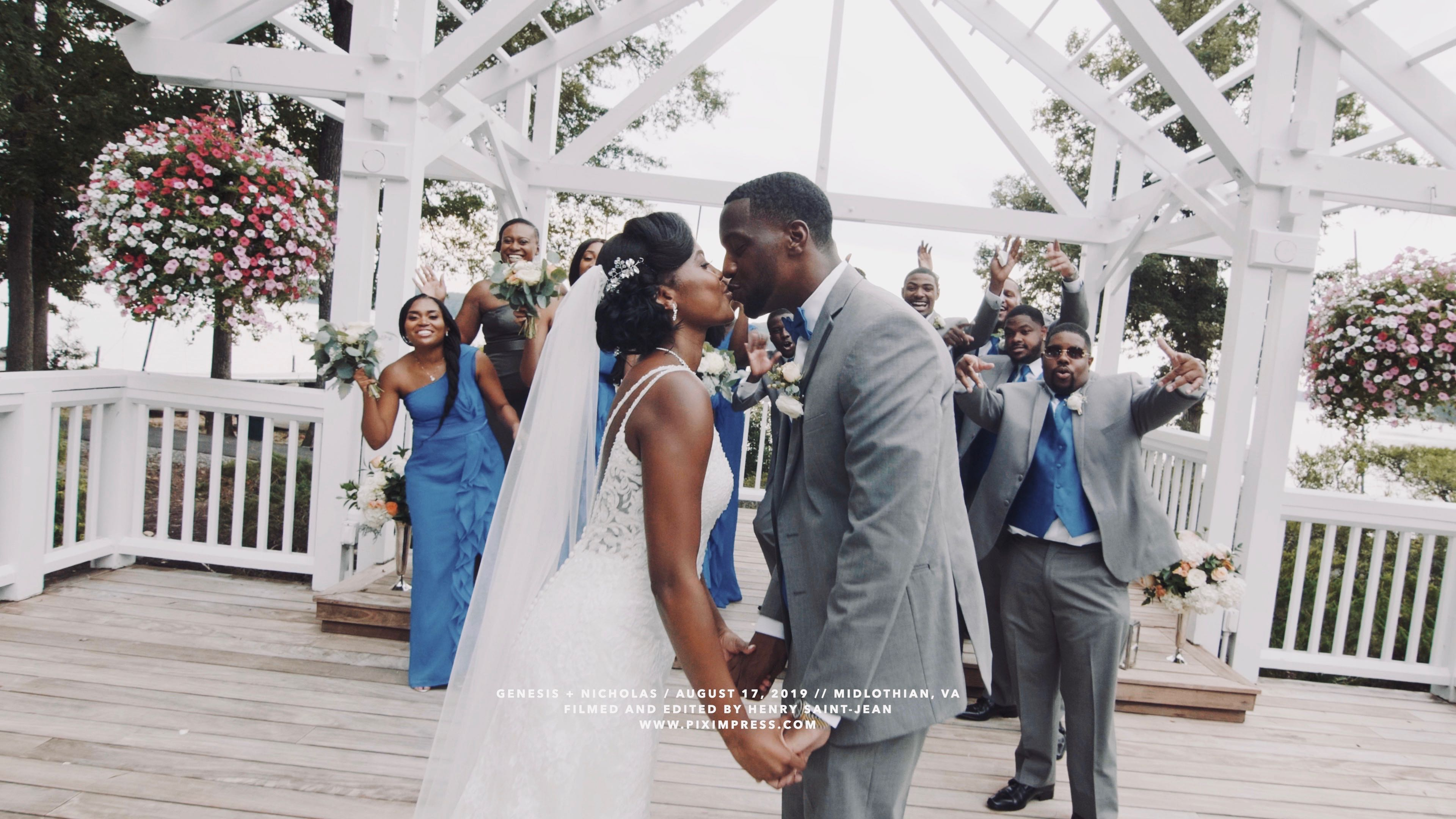 Genesis + Nicholas | Midlothian, Virginia | Boathouse At Sunday Park