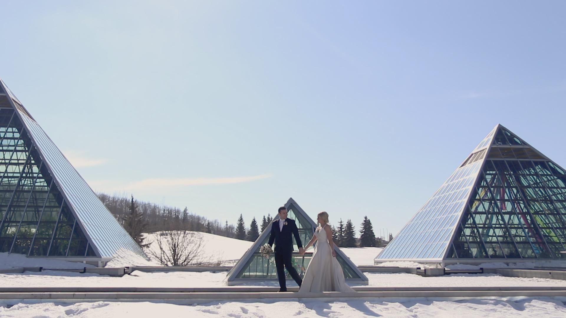 Nadine + Zack | Edmonton, Canada | Polish Hall