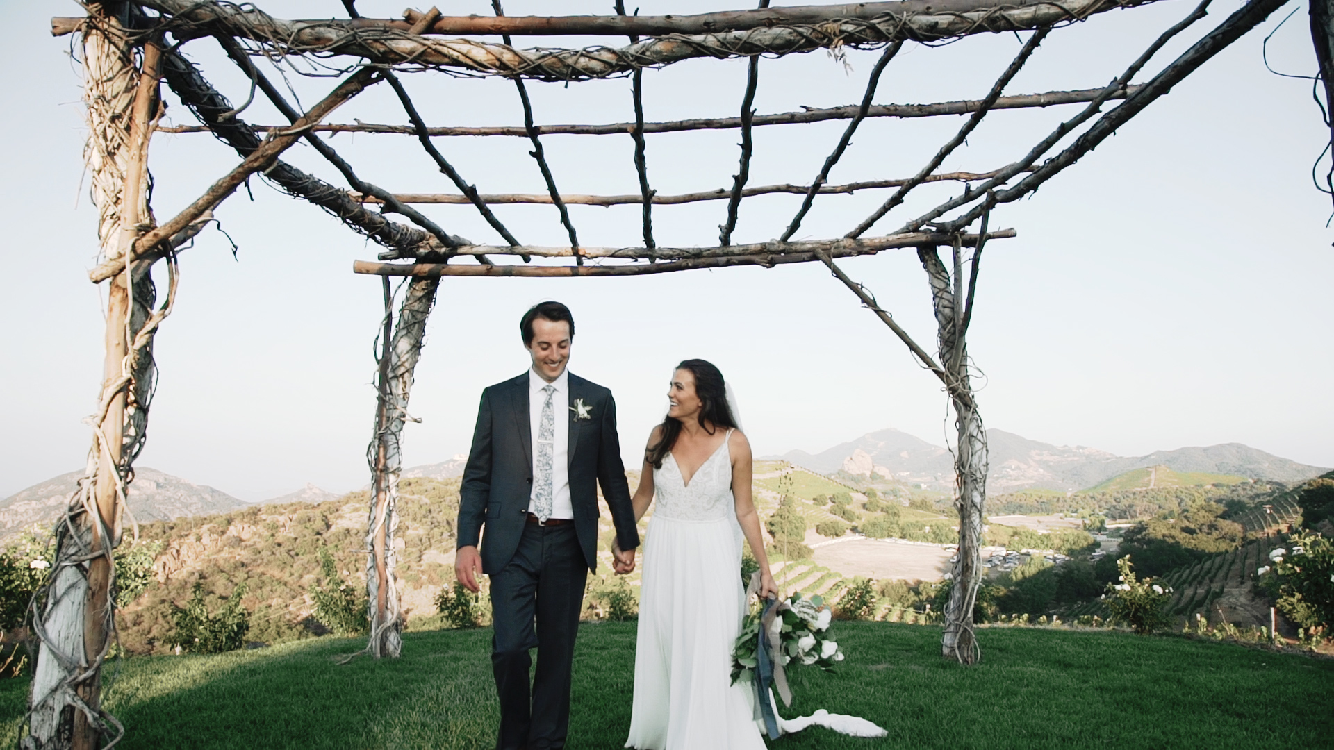 Micah + Elizabeth | Malibu, California | Saddlerock Ranch