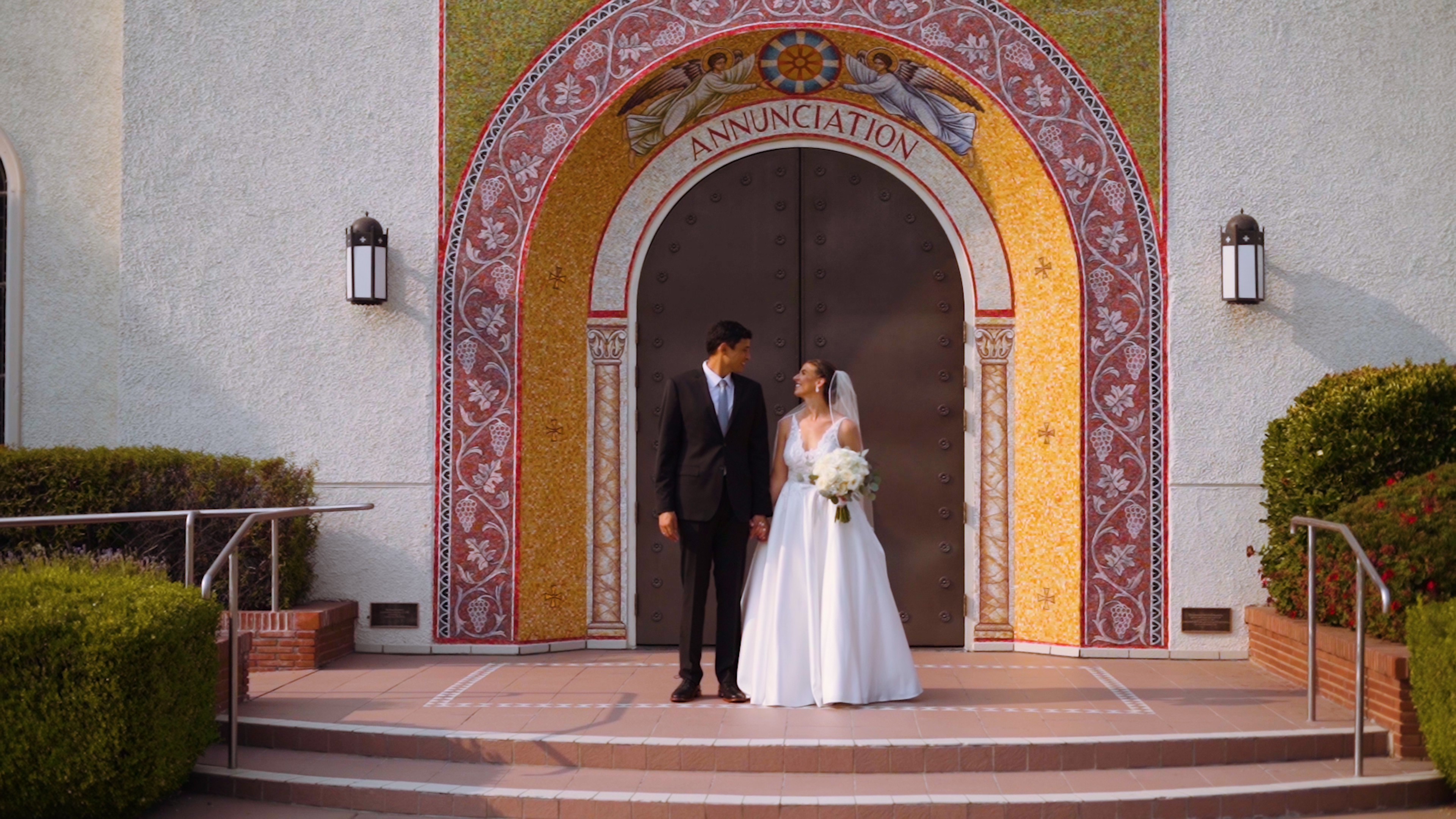 Austin + Elizabeth | Modesto, California | Annunciation Greek Orthodox Church