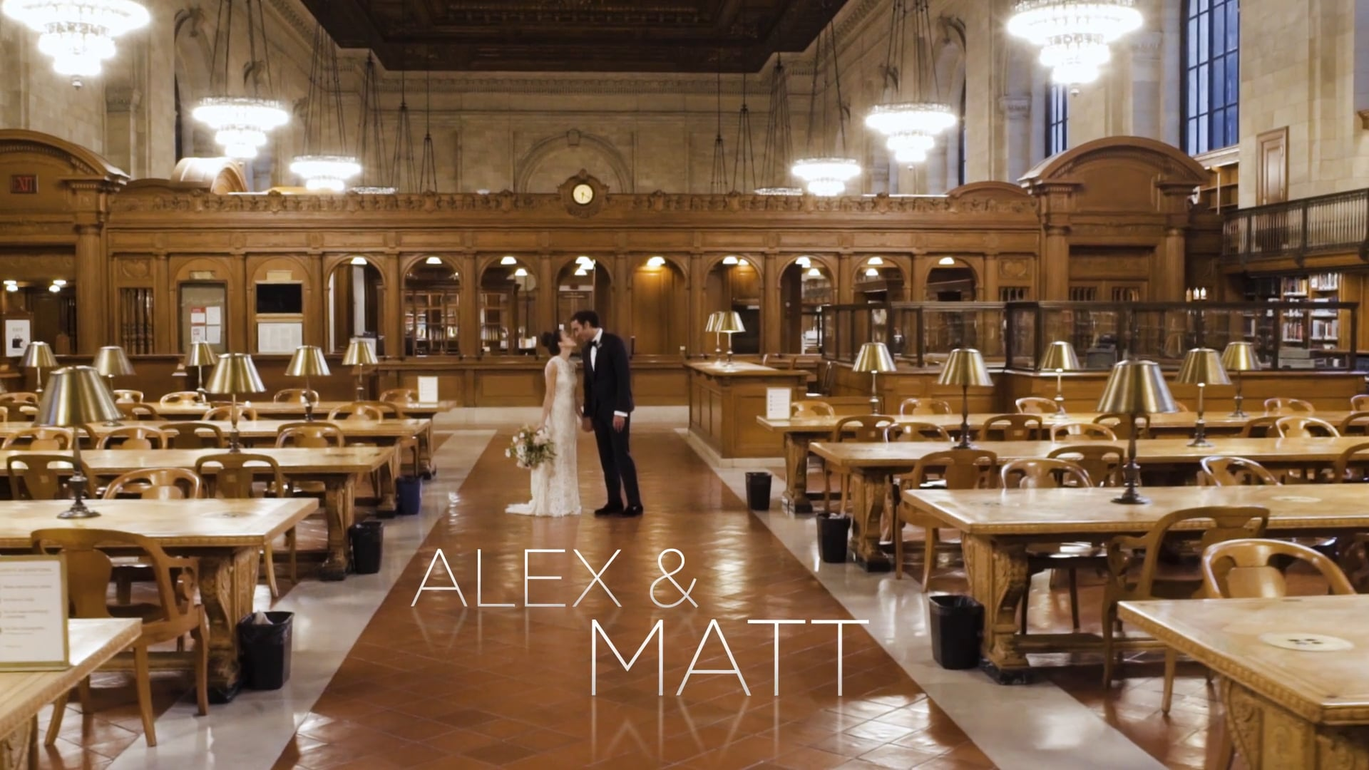 Alex + Matt | New York, New York | New York Public Library