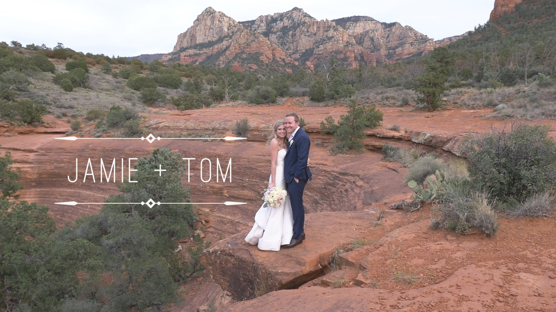 Tom  + Jamie | Sedona, Arizona | L'Auberge