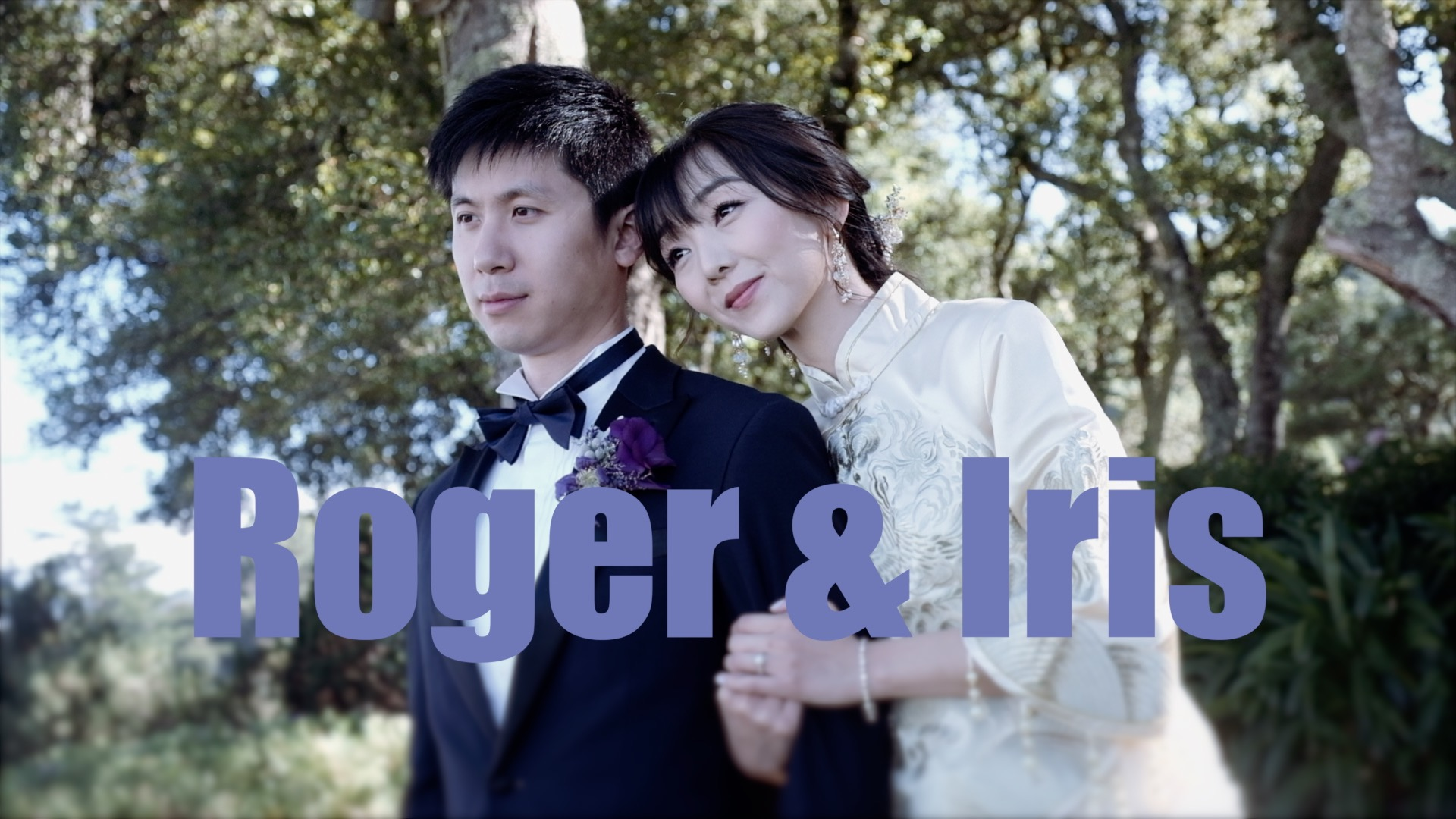 Iris + Roger | Woodside, California | Thomas Fogarty Winery