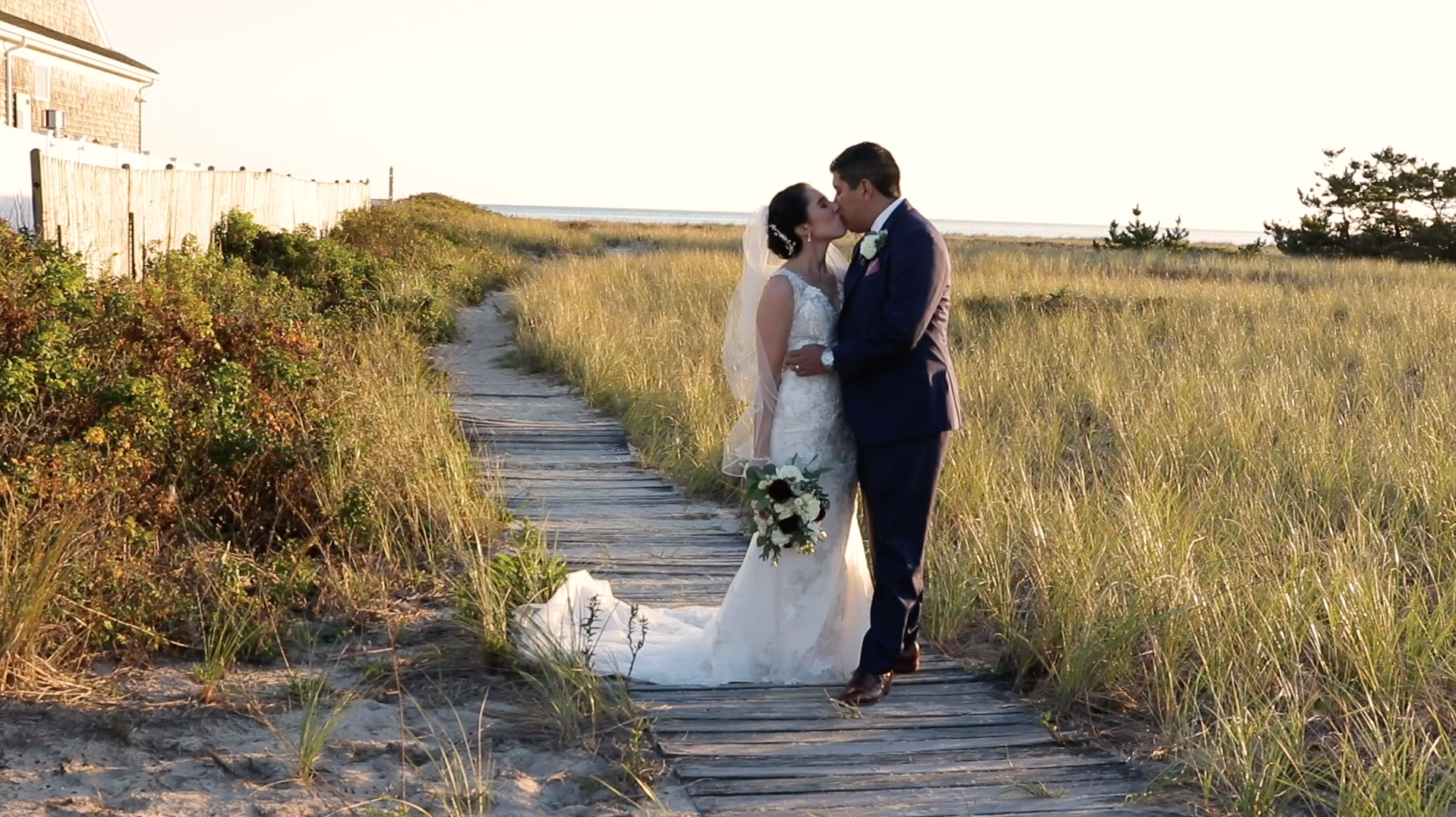 Anna Marie + Max | Harwich, Massachusetts | Wychmere Beach Club