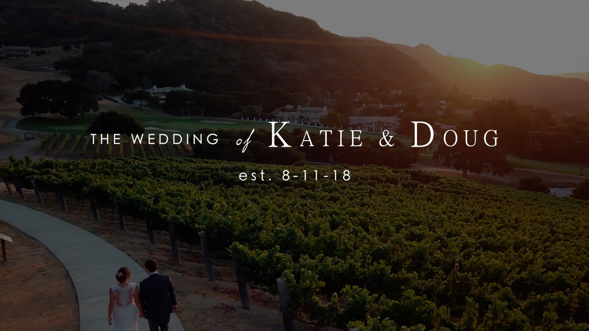 Katie + Doug | Carmel Valley, California | Carmel Valley Ranch
