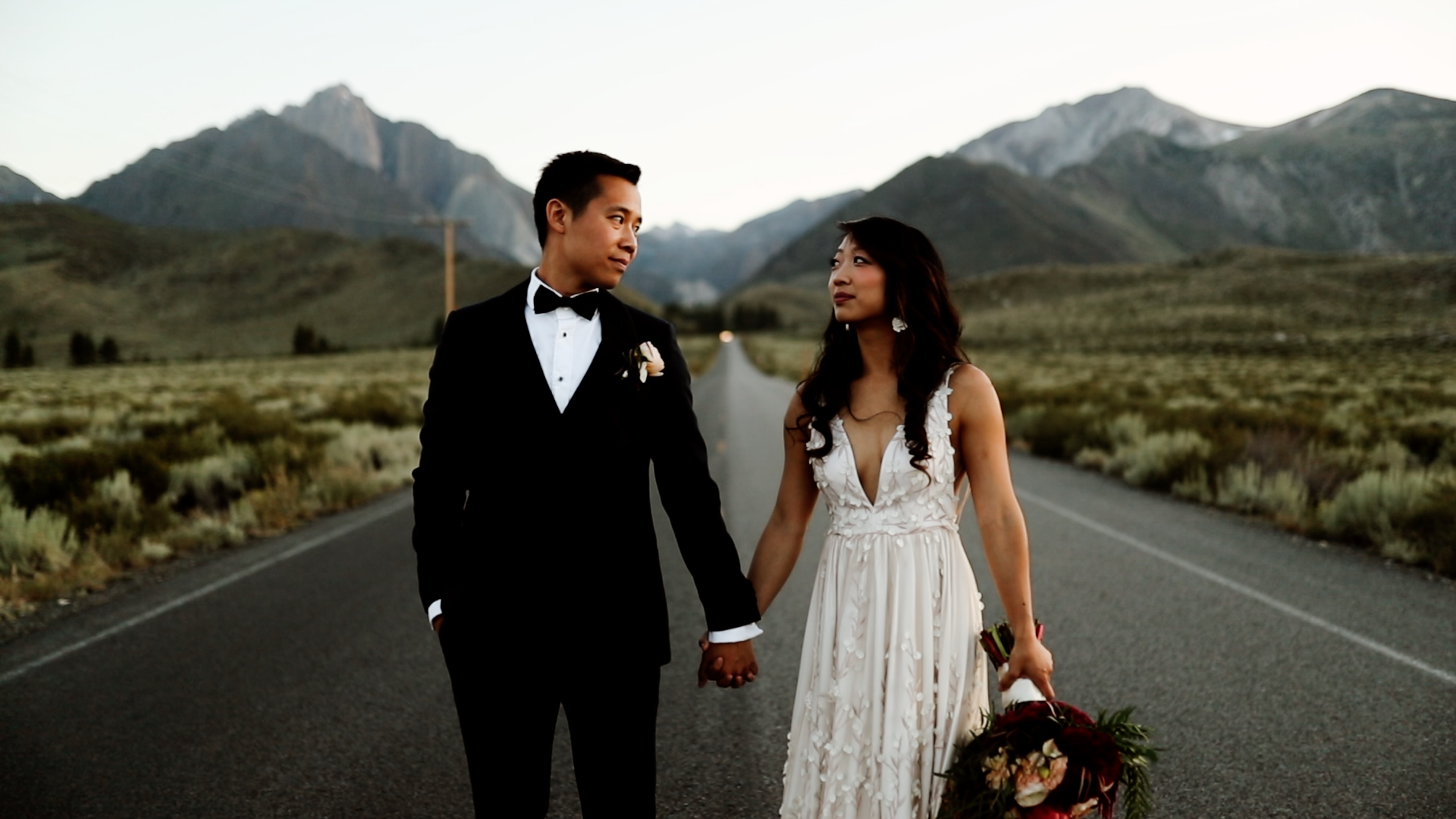 Audrey + Tim | Mammoth Lakes, California | Convict Lake Resort