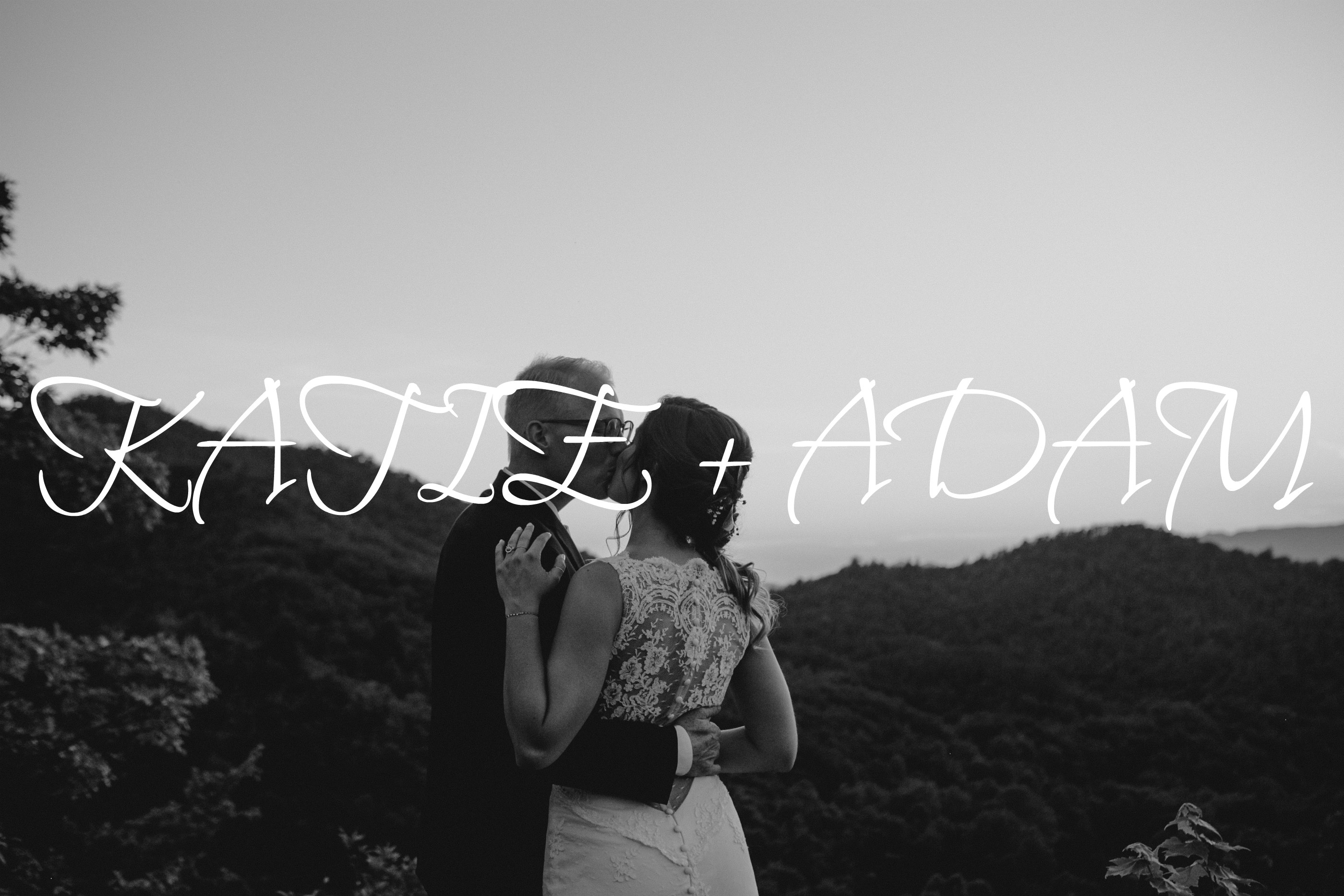 Katie + Adam | Andrews, North Carolina | Hawkesdene House