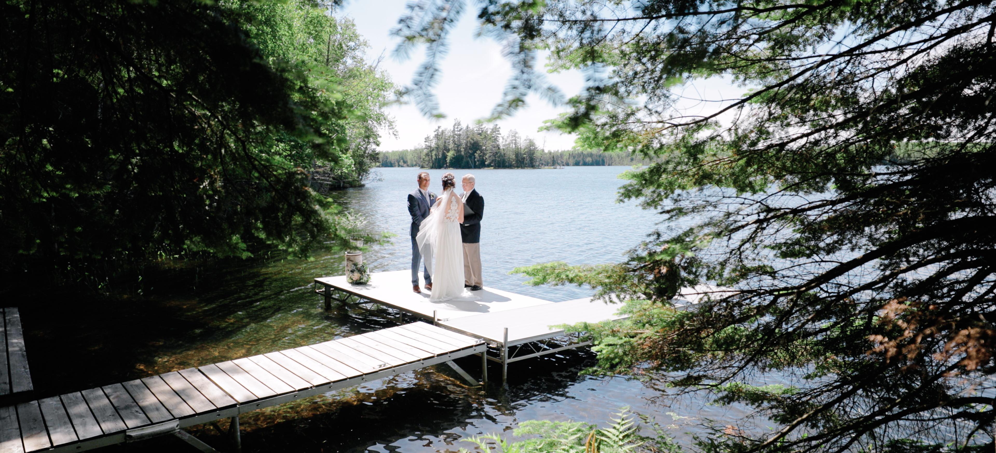 Niki + David | Clam Lake, Wisconsin | Family Cabin