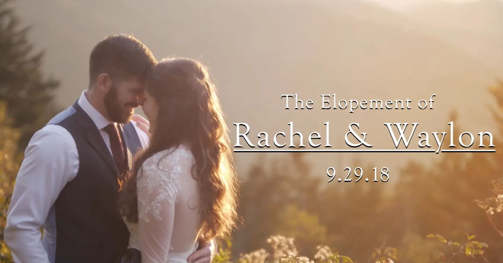 Rachel  + Waylon | Waynesville, North Carolina | Fork Ridge Overlook