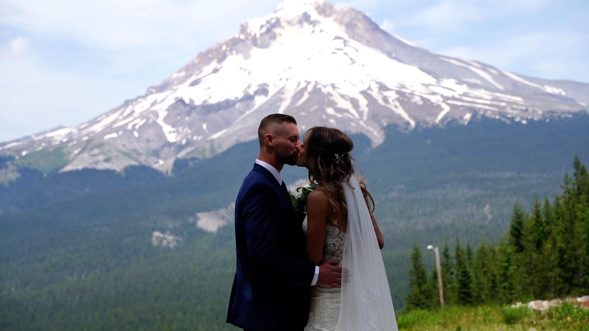 Kevin + Ashley | Government Camp, Oregon | Mount Hood Ski Bowl