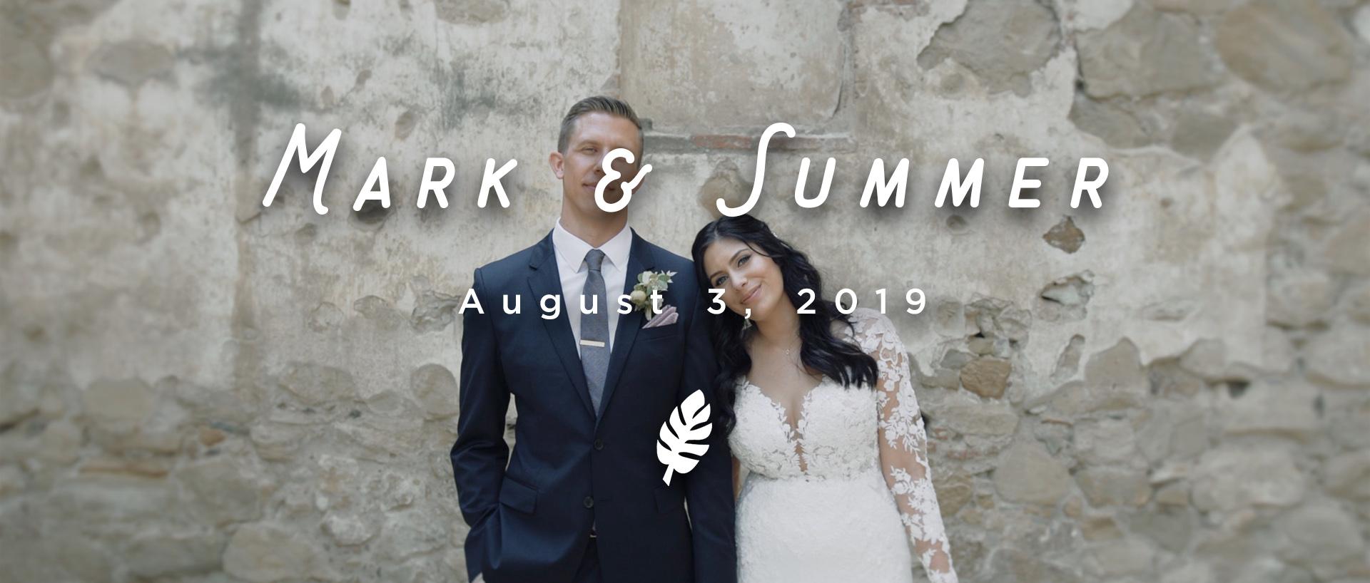 Mark + Summer | San Juan Capistrano, California | Franciscan Gardens