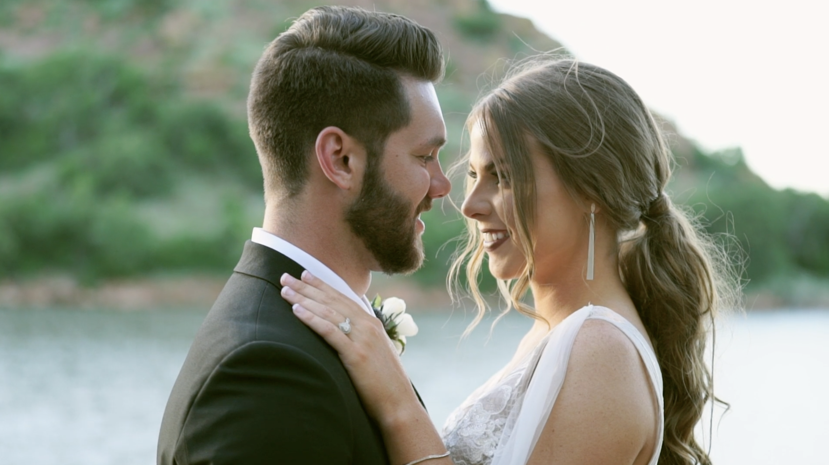 Jimmie + Jacob | Lone Wolf, Oklahoma | Quartz Mountain Resort