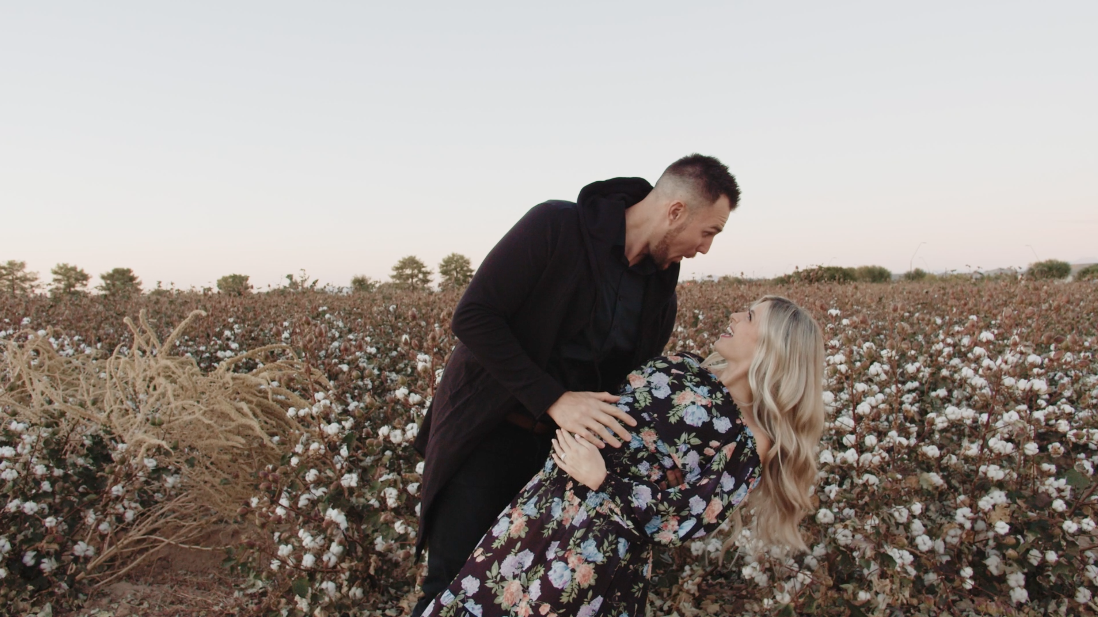 Kailee + Lance | Queen Creek, Arizona | Queen Creek Cotton Fields