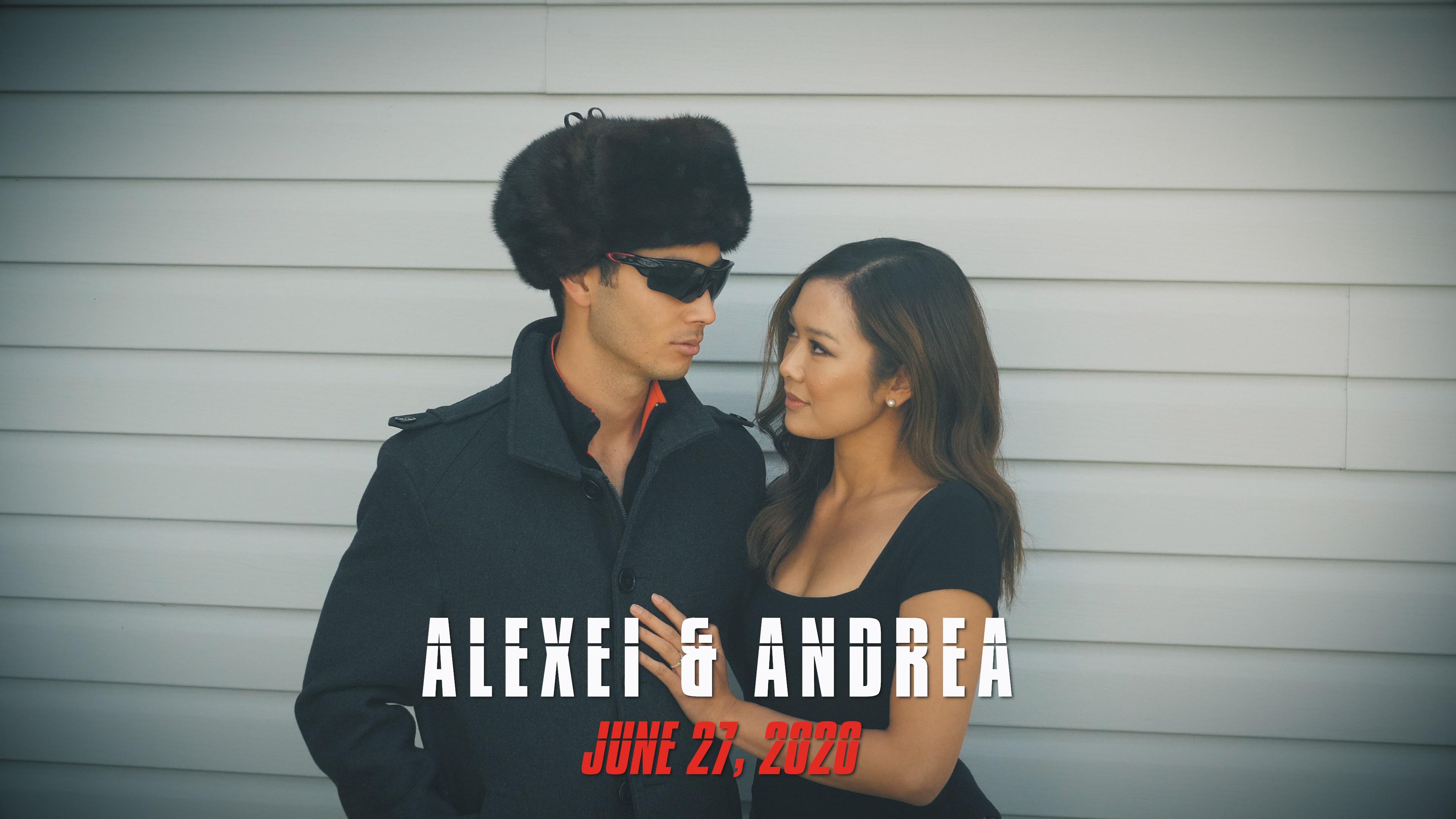 Alexei + Andrea | Edmonton, Canada | Park