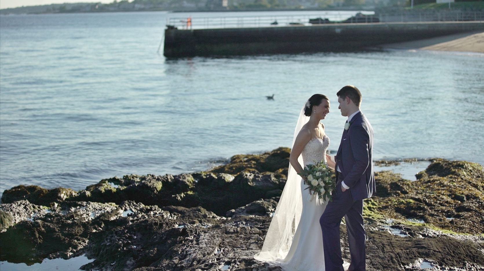 Kerry + Andrew | Larchmont, New York | Larchmont Shore Club Wedding