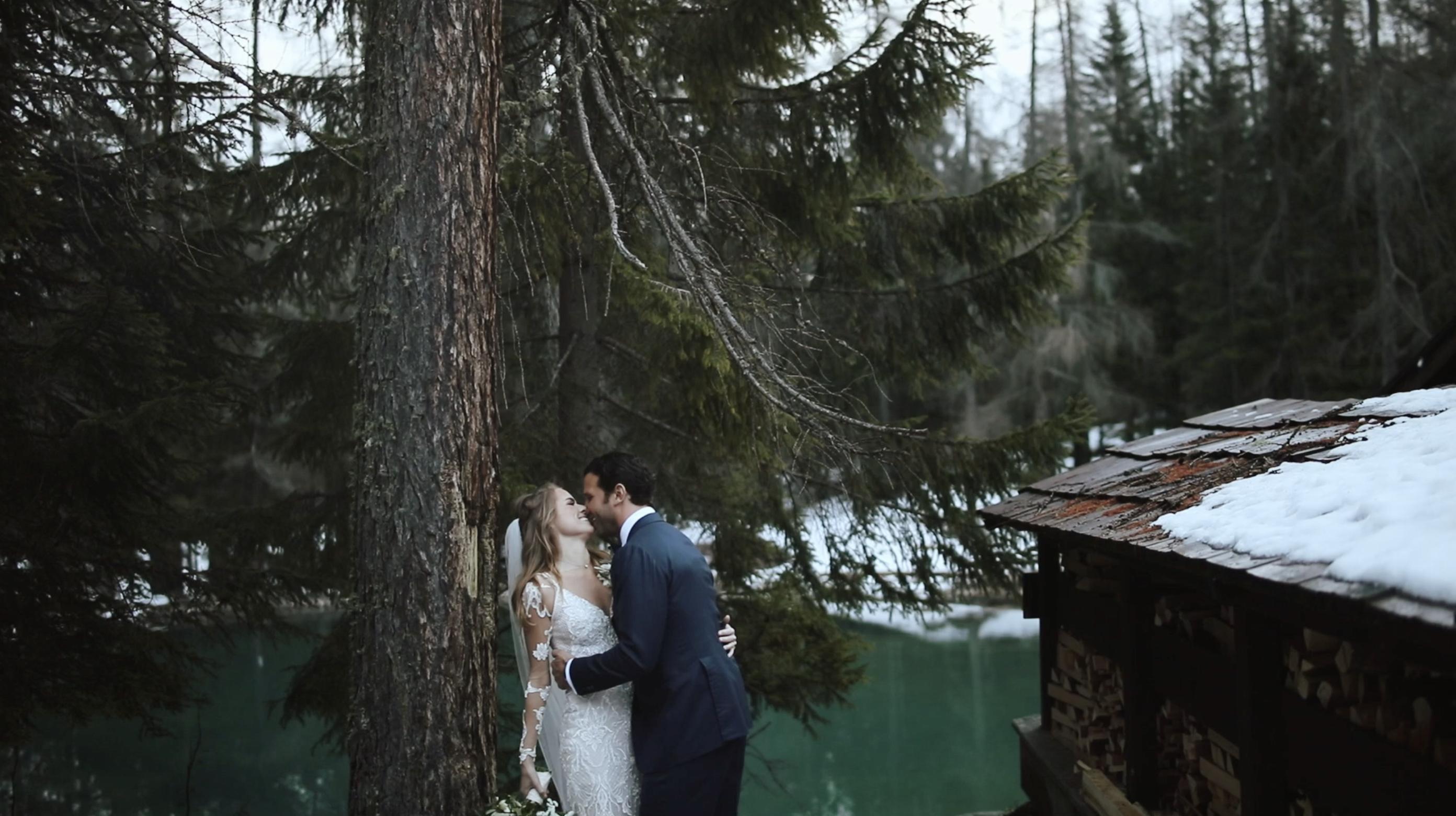 Rosanne + Dexter | Cortina d'Ampezzo, Italy | Lago Ghedina