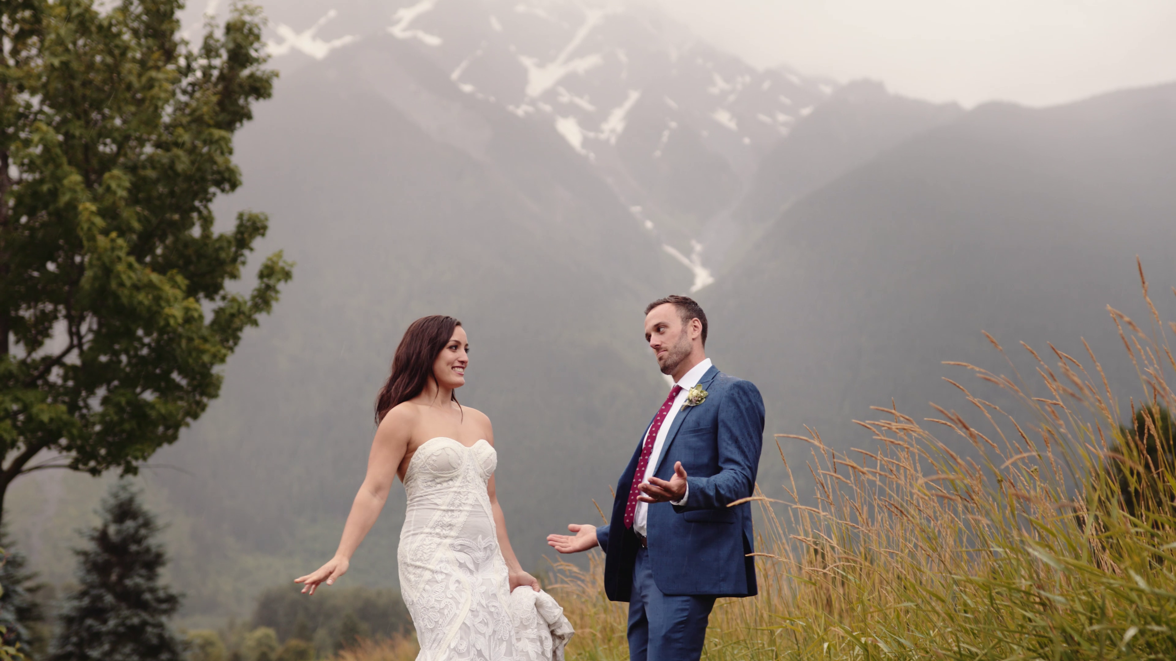 Courtney + Eli | Pemberton, Canada | The Big Sky Golf Club