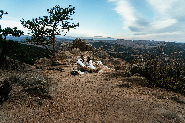 Ashley + CJ   Boulder, Colorado   Lost Gulch Overlook