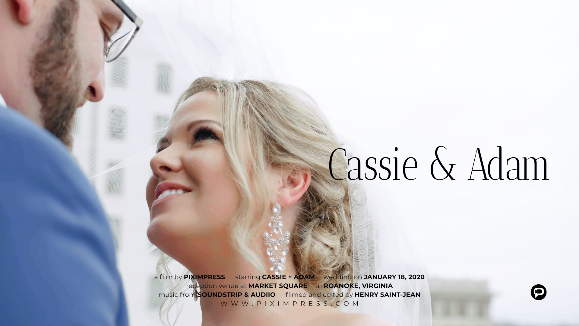 Cassie + Adam | Roanoke, Virginia | Charter Hall