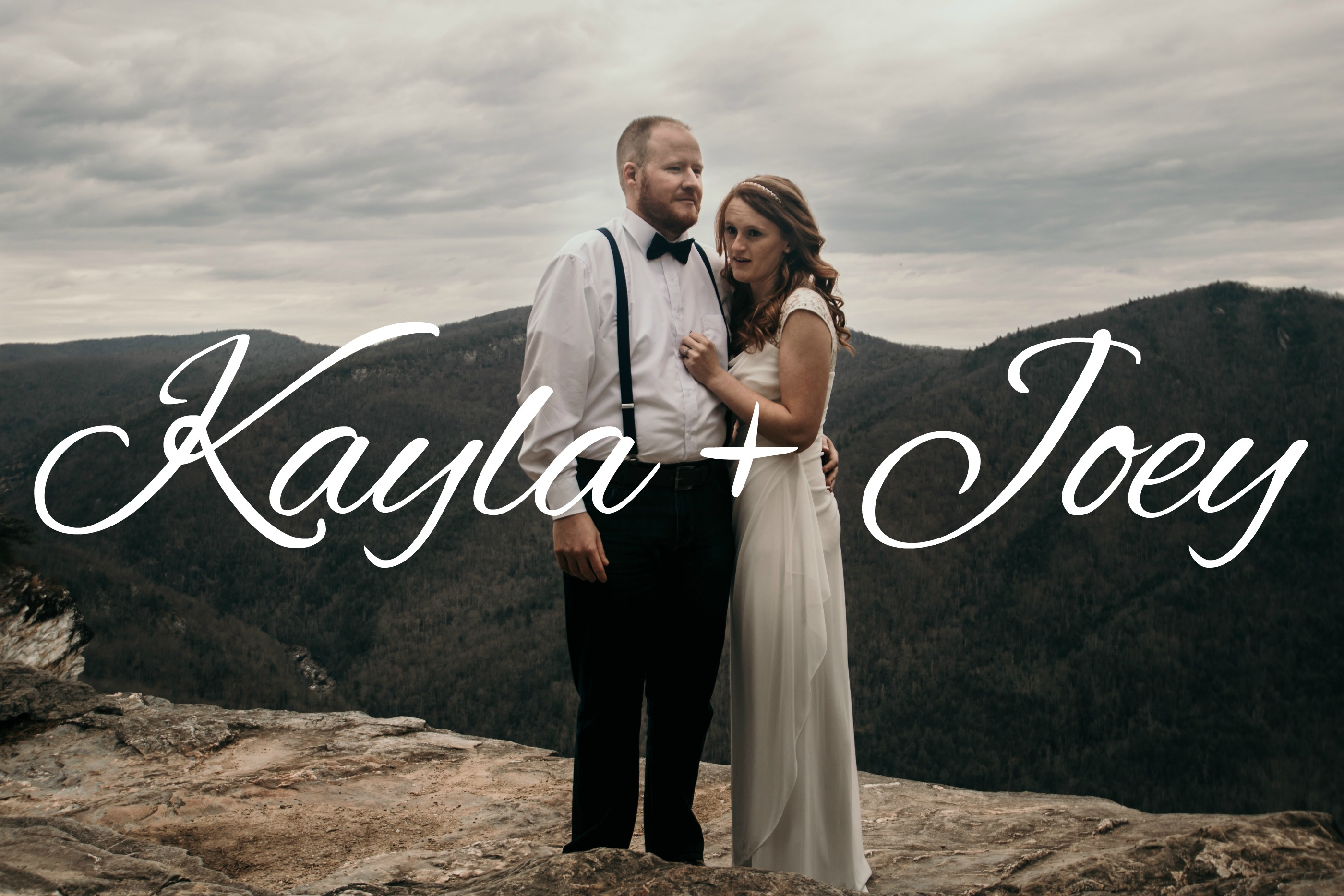 Kayla + Joey | Asheville, North Carolina | Wisemen's View