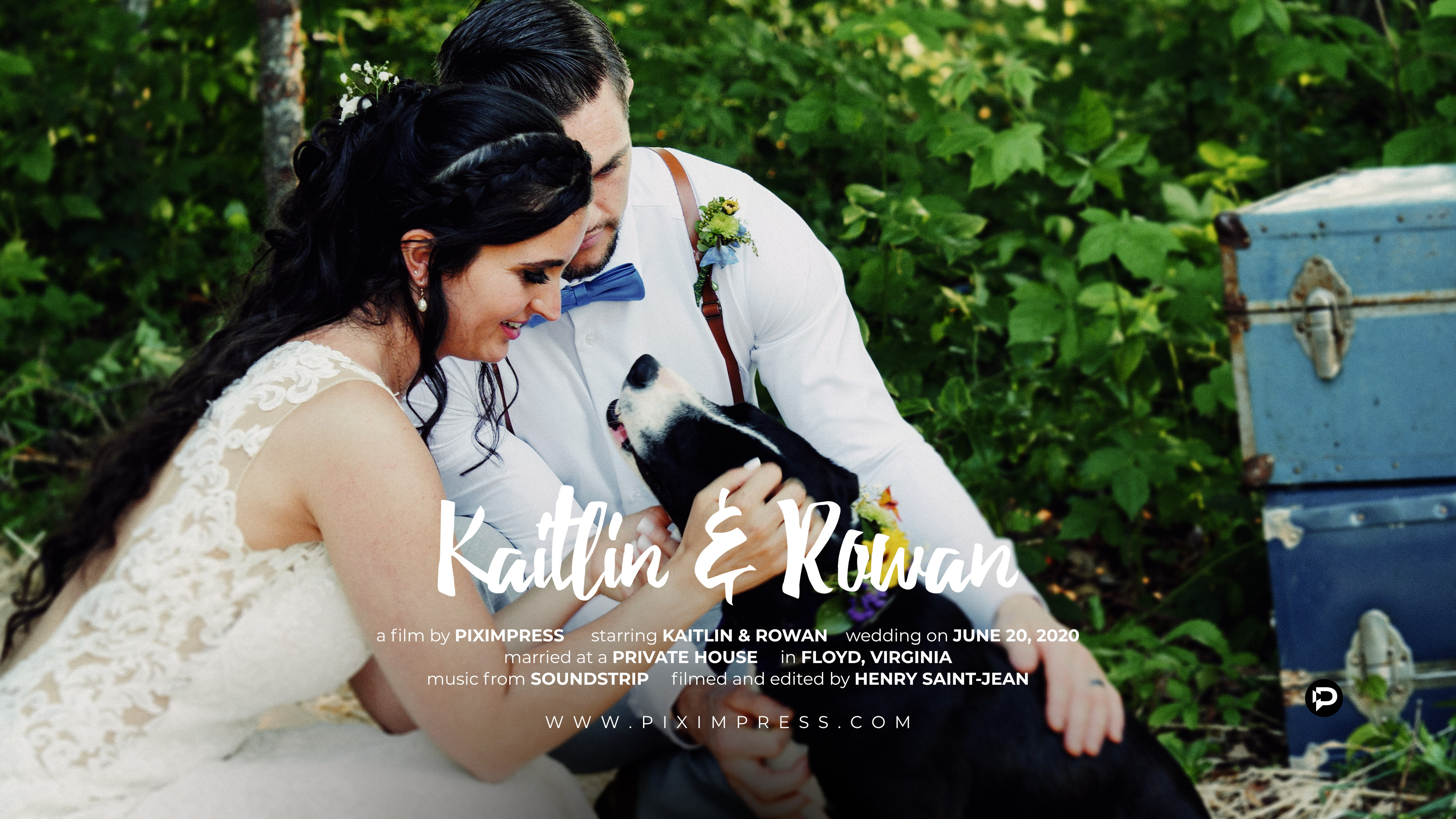 Kaitlin + Rowan | Floyd, Virginia | Private Home