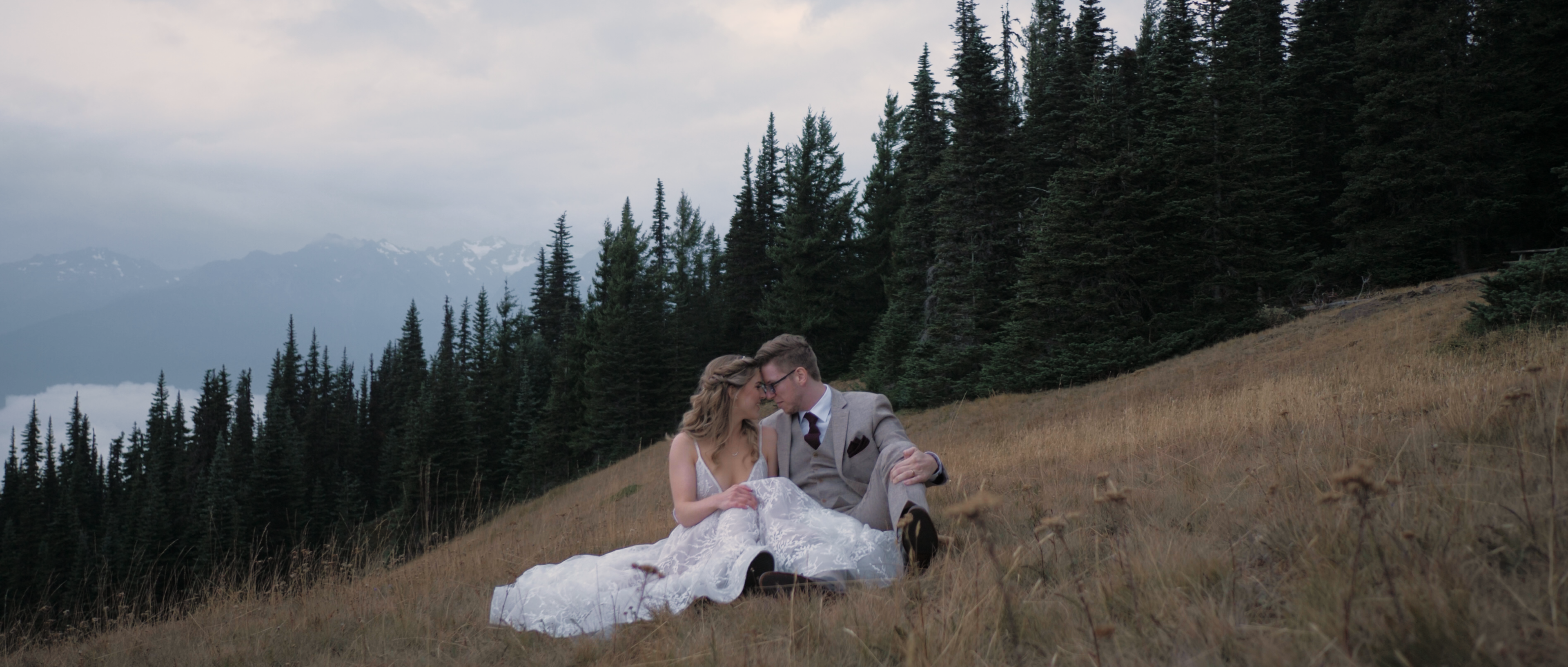 Sam + Andrew | Port Angeles, Washington | Hurricane Ridge