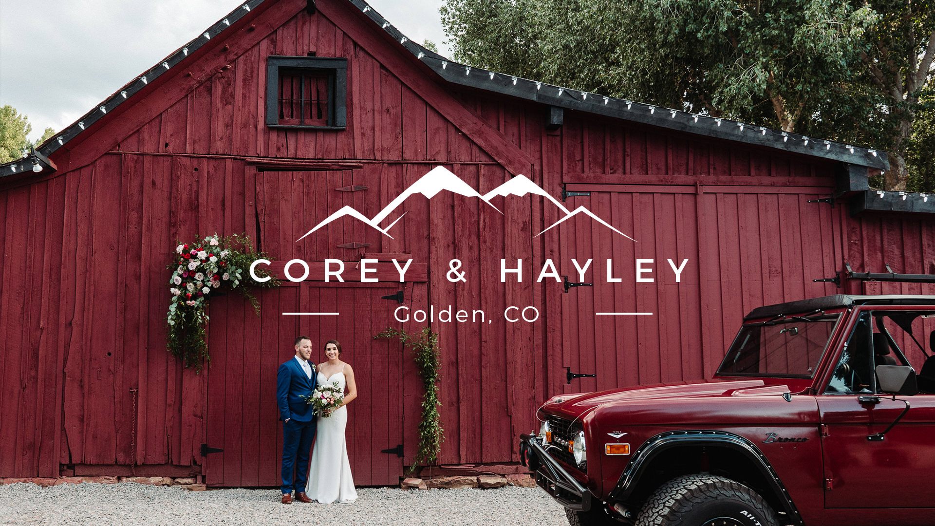 Hayley + Corey | Golden, Colorado | Home