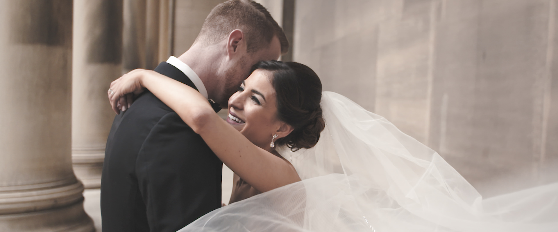 Stephanie + Brendan | Pittsburgh, Pennsylvania | Carnegie Music Hall Foyer