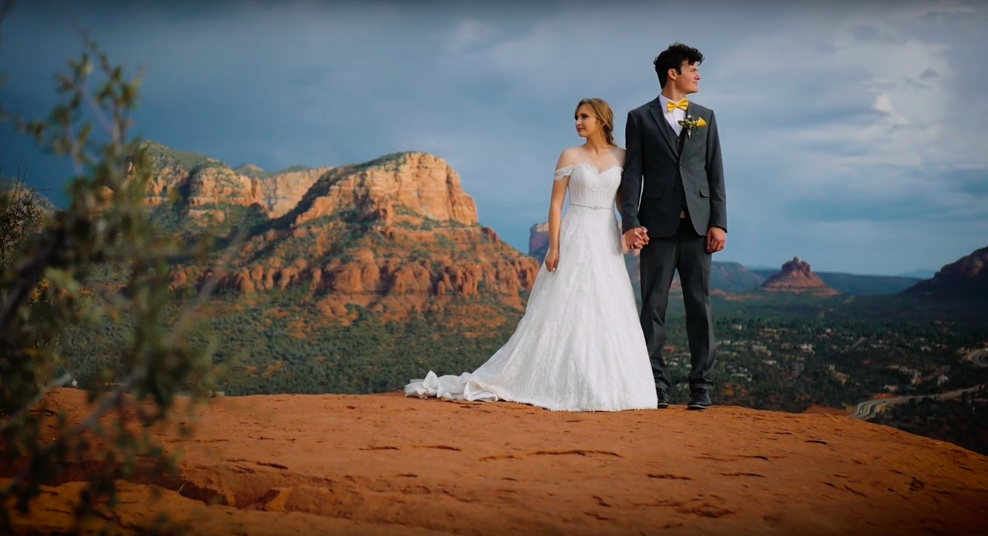 Briana + Carson | Sedona, Arizona | Sky Ranch Lodge