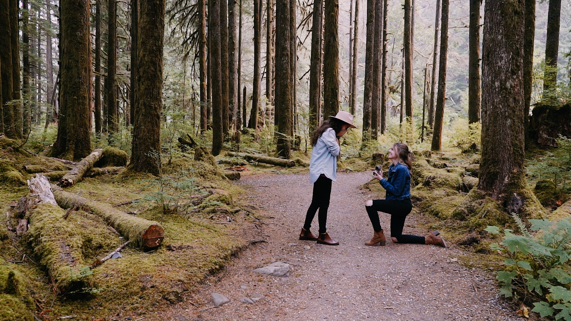 Katie + Mikayla | North Bend, Washington | Middle Fork Trail