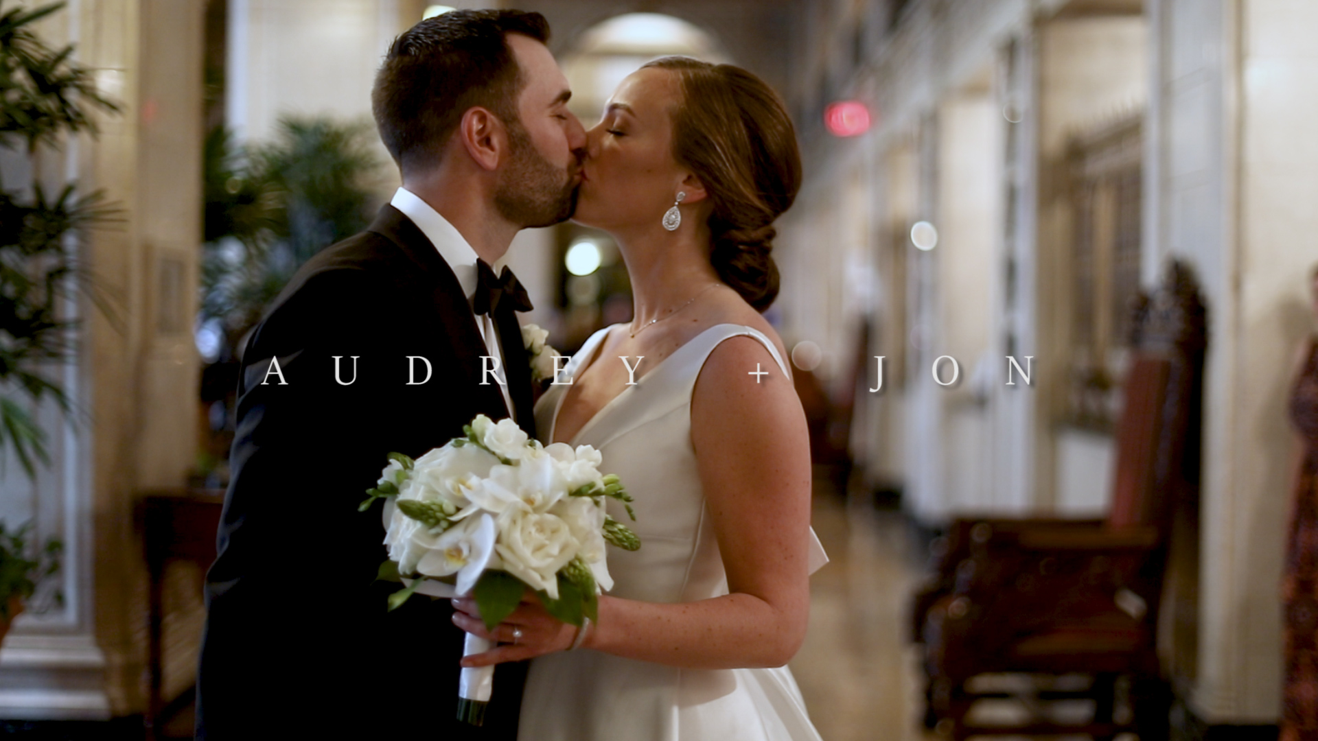 Jon + Audrey | Louisville, Kentucky | The Brown Hotel