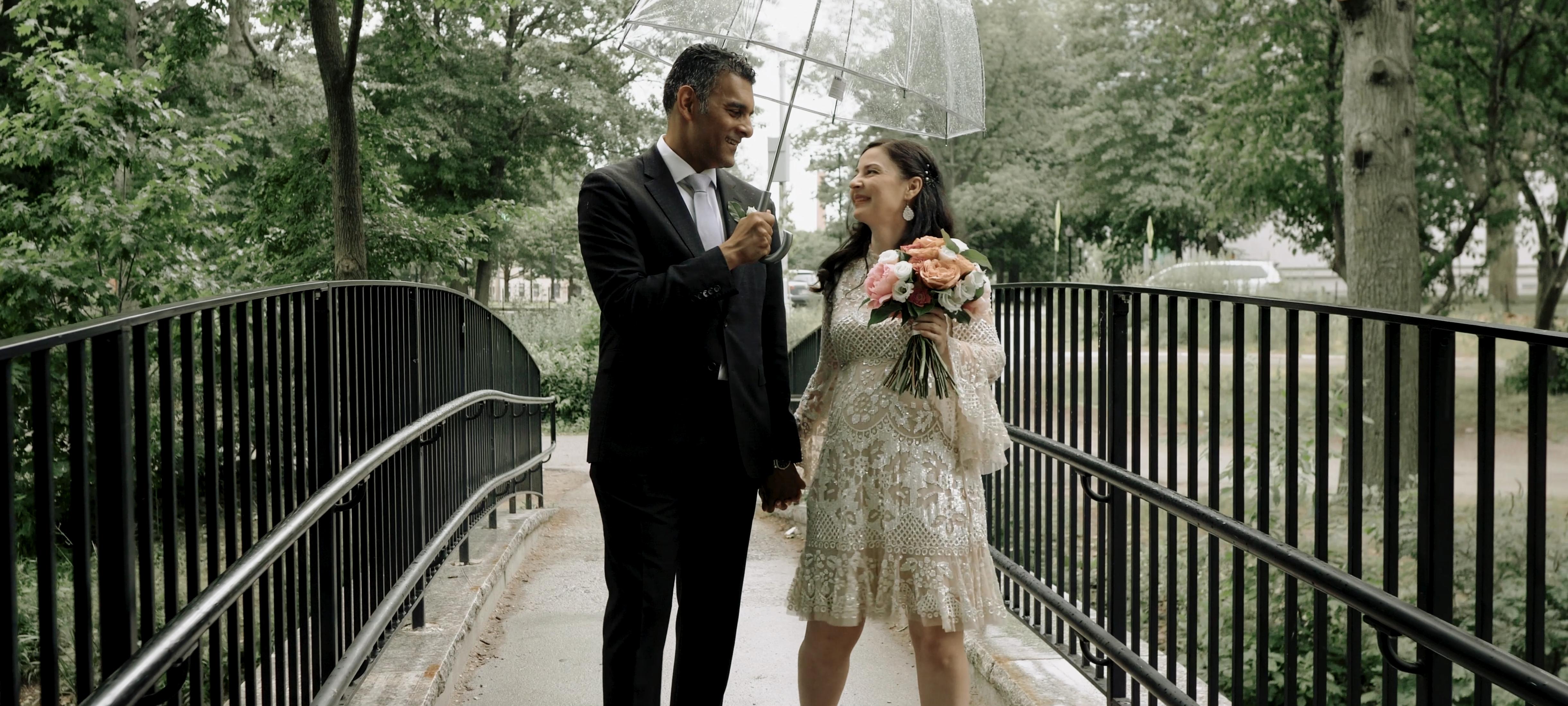 Raluca + Ranj | Boston, Massachusetts | Kelleher Rose Garden