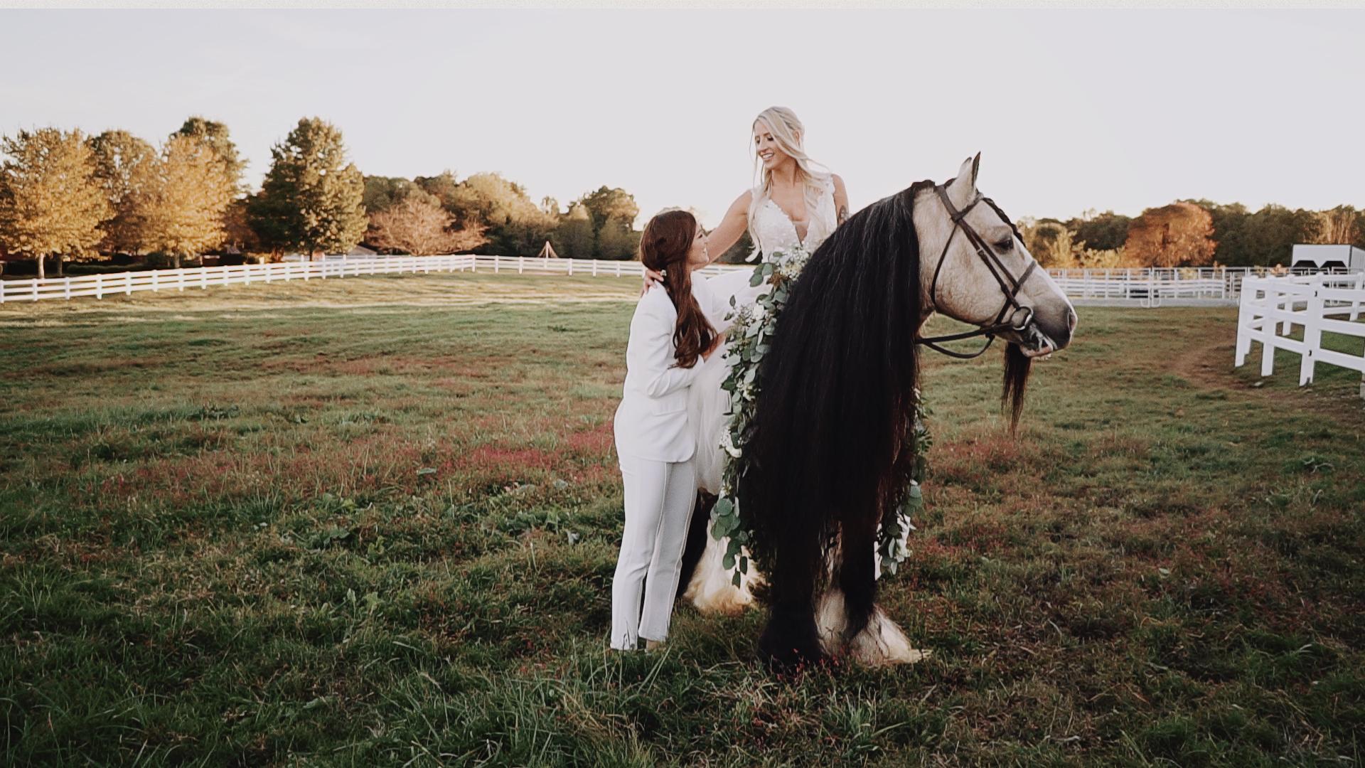 Ali + Anneliese | Nashville, Tennessee | Private Farm