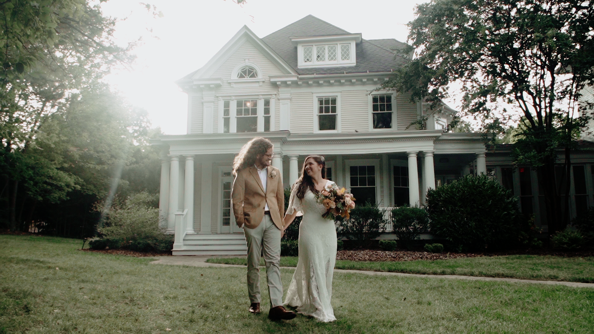 Corrie + Kevin | Greensboro, North Carolina | The McAlister-Leftwich House