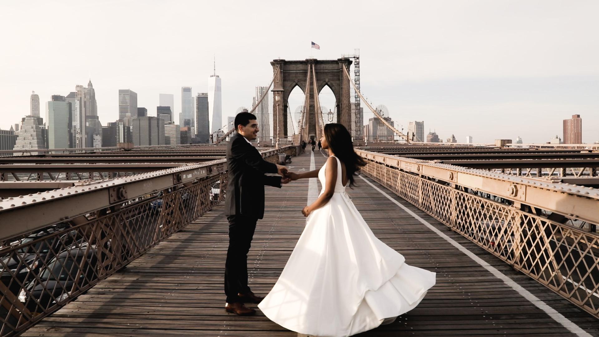 Sharrone + Damian | Brooklyn, New York | St. Ann's Warehouse