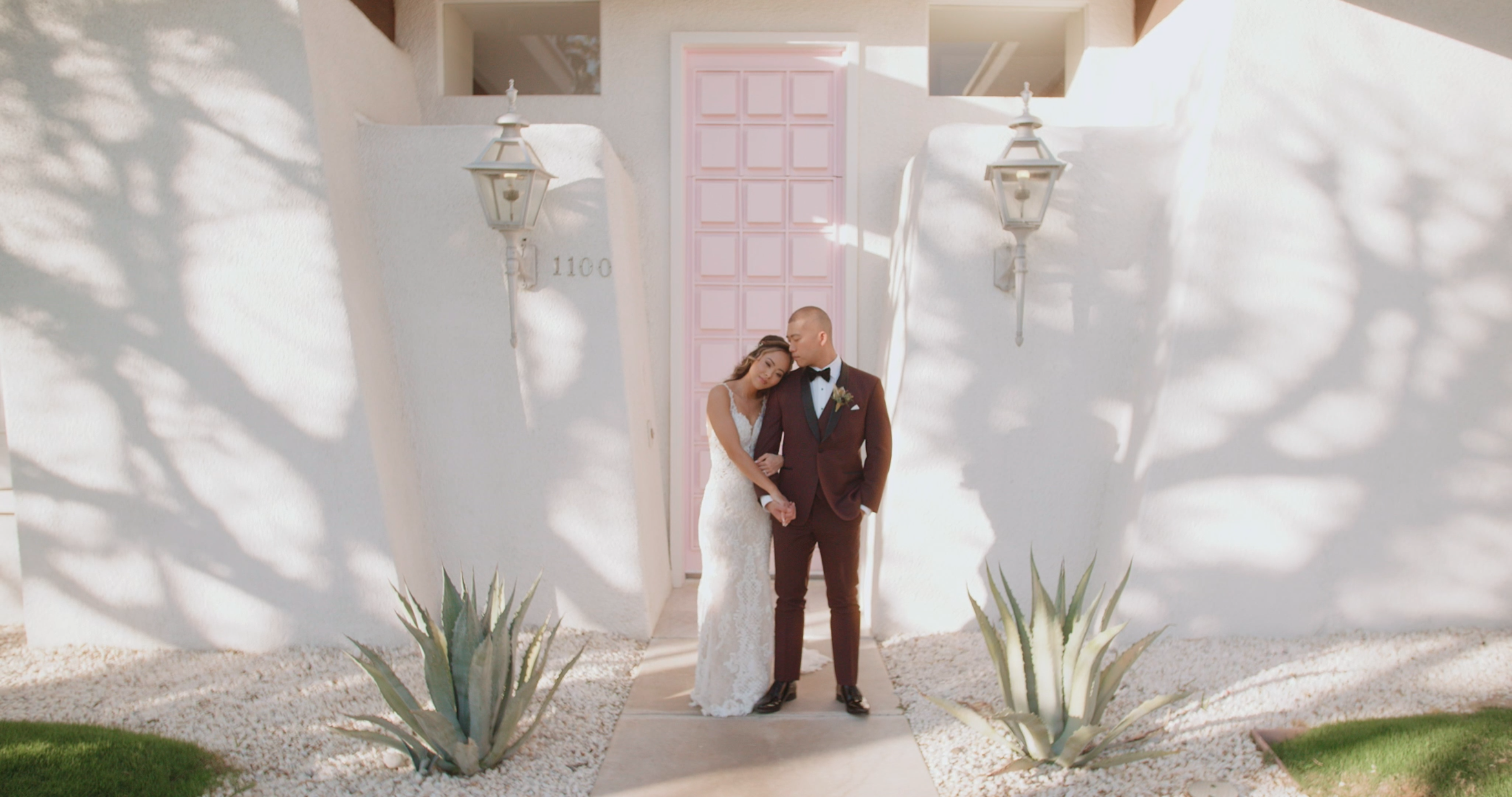 Jenny + Jay | Palm Springs, California | the pink door house