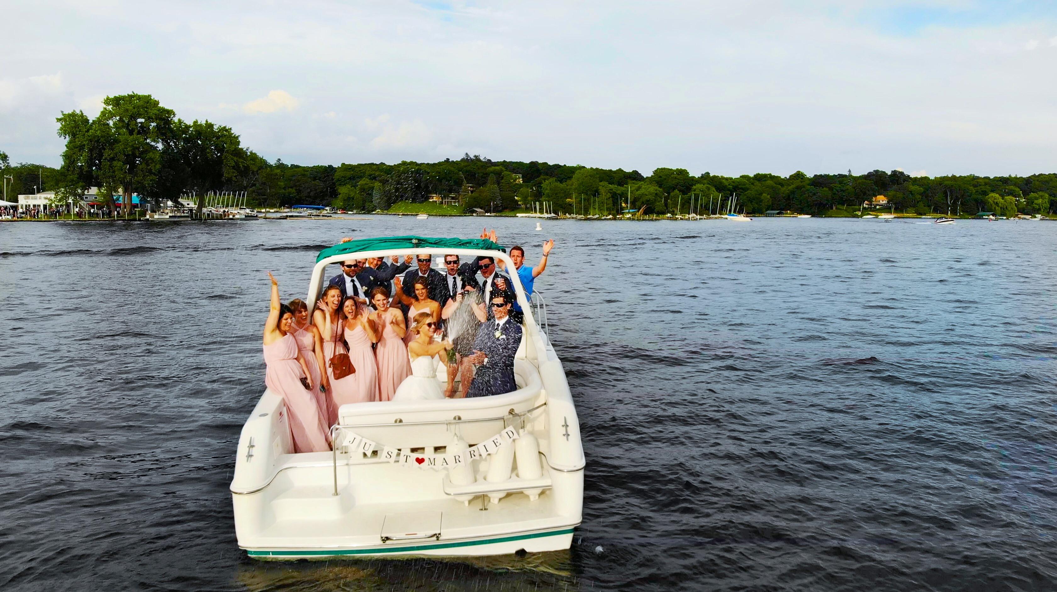 Bri + Brady | Deephaven, Minnesota | Minnetonka Yacht Club