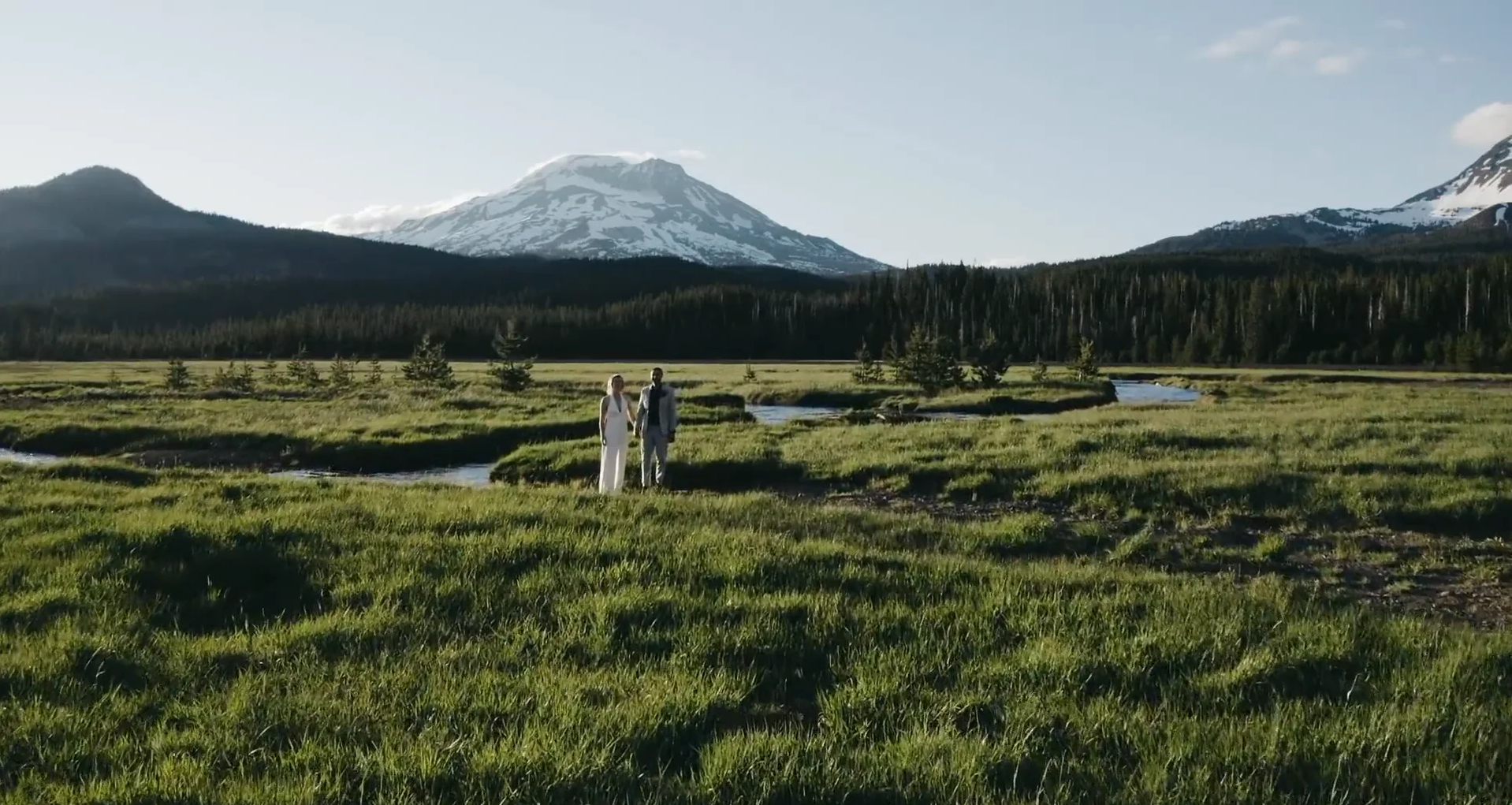 Colleen + Shawn | Bend, Oregon | Sparks Lake