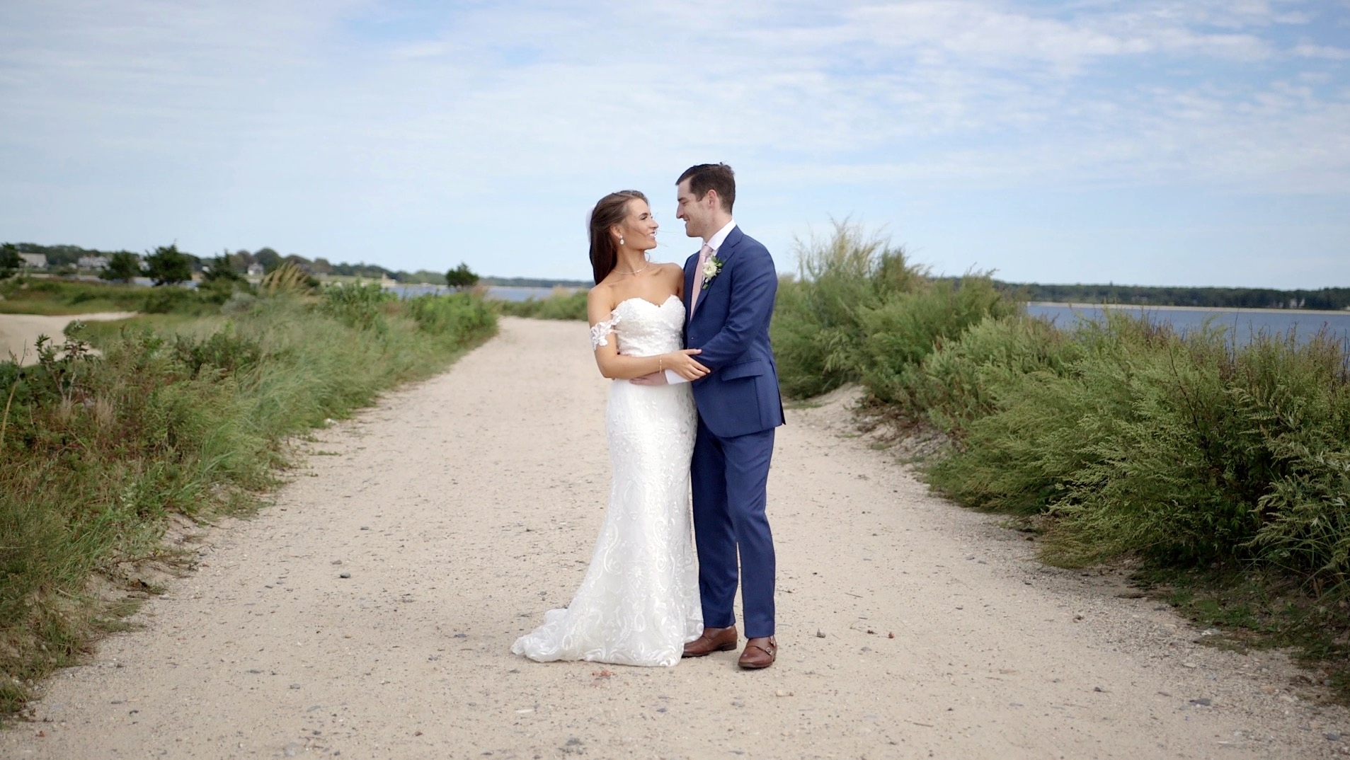 Courtney + Michael | Shelter Island, New York | Private Home