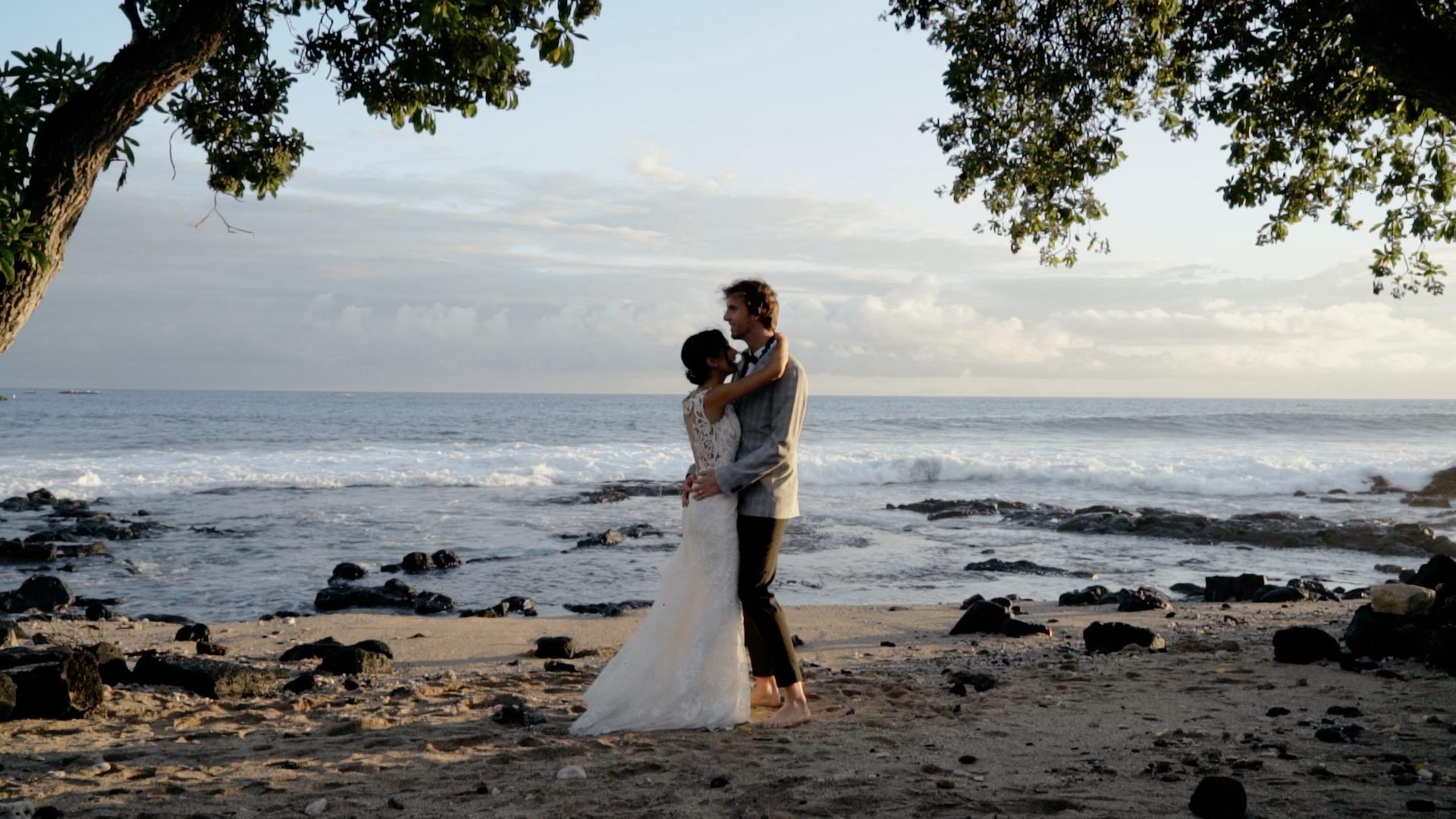 Graham + Cassie | Kailua-Kona, Hawaii | Papa Kona Events