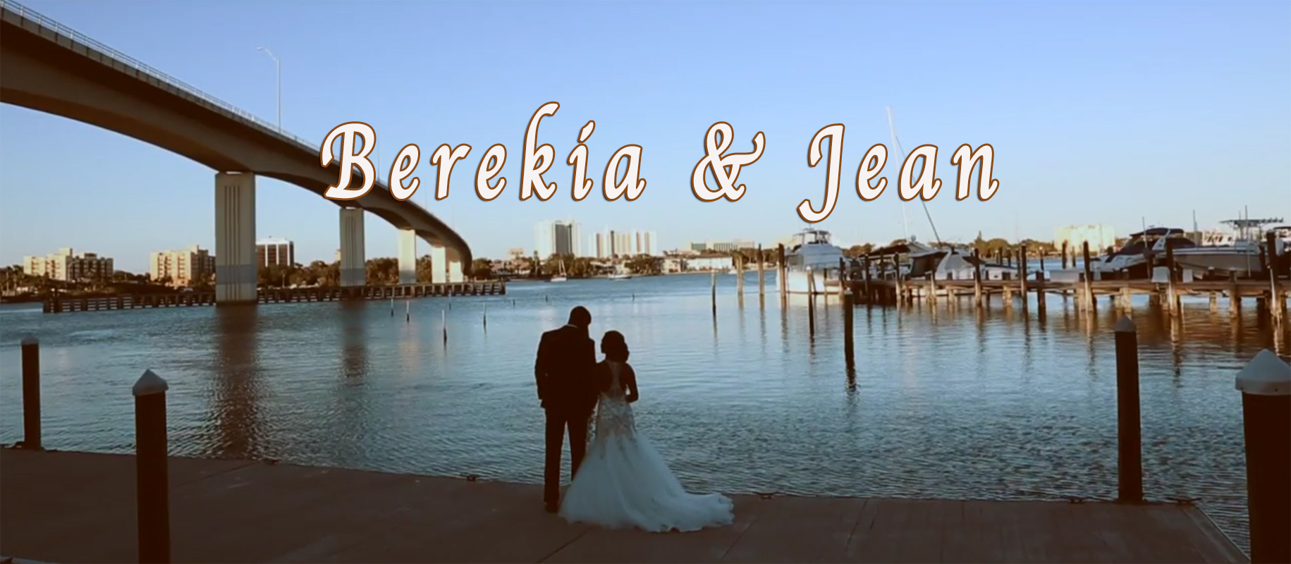 Berekia + Jean | Daytona Beach, Florida | Crystal Ballroom At Sunset Harbor